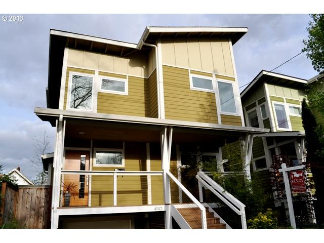 SOLD: $414,900<br>4110 NE 7TH, Portland OR 97211<br>3 Beds, 3 Baths, 2,397 Sqft<br>