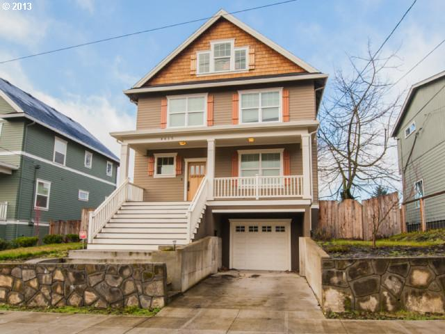 SOLD: $450,000<br>4615 NE GARFIELD, Portland OR 97211<br>4 Beds, 4 Baths, 2,788 Sqft<br>