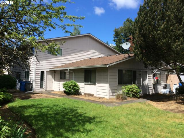 Location, location, location! Awesome 4-Plex in highly sought after Cascade Park. Two one level units have 2 beds and 1 bath. Two units are townhouse style with 2 beds and 1.5 baths. There are two 2 car garages. Newer gutters.