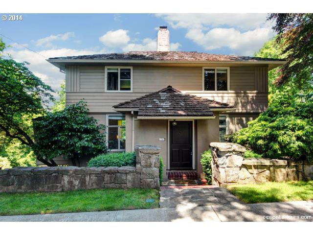 1717 SW CLIFTON, Portland OR 97201