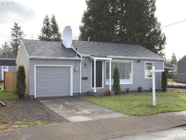 4562 SE 83RD AVE, Portland OR 97266