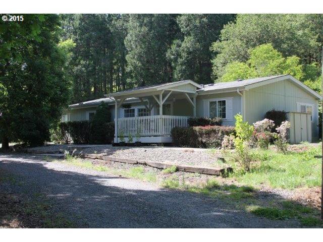 379 Porter Creek Rd Winston Or Or 97496 Us Roseburg Home For Sale