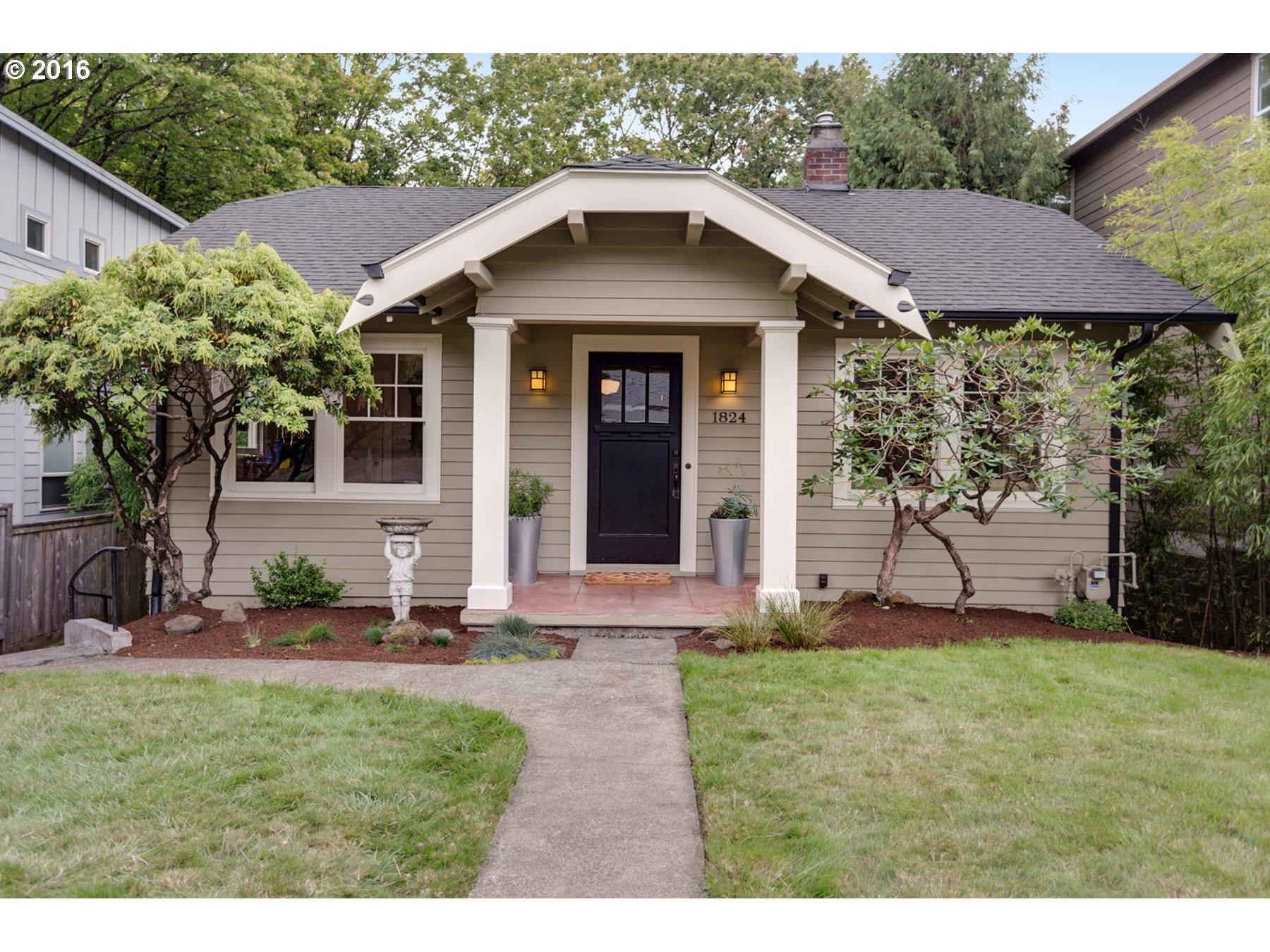 1824 SW EVANS ST, Portland OR 97219