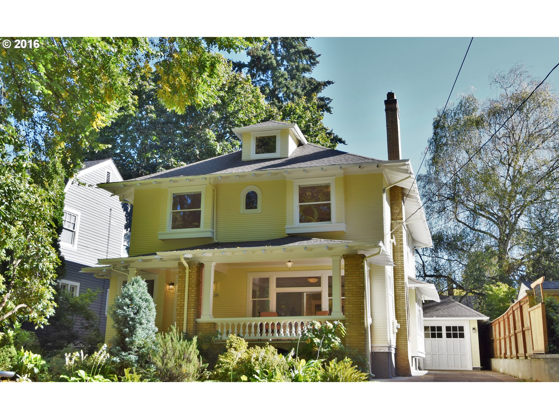 Exquisite house balances historic flavor updated for today.  This home with vintage lighting and molding cast a glamorous spell, while updates and luxury kitchen provide the comfort of a new house.  Luxury master w/ spa-like bath will start every day right.  Four levels of house, four bedrooms, finished basement, and big bonus give family spaces for happy living. Quiet street by Laurelhurst Park: the best of Portland.