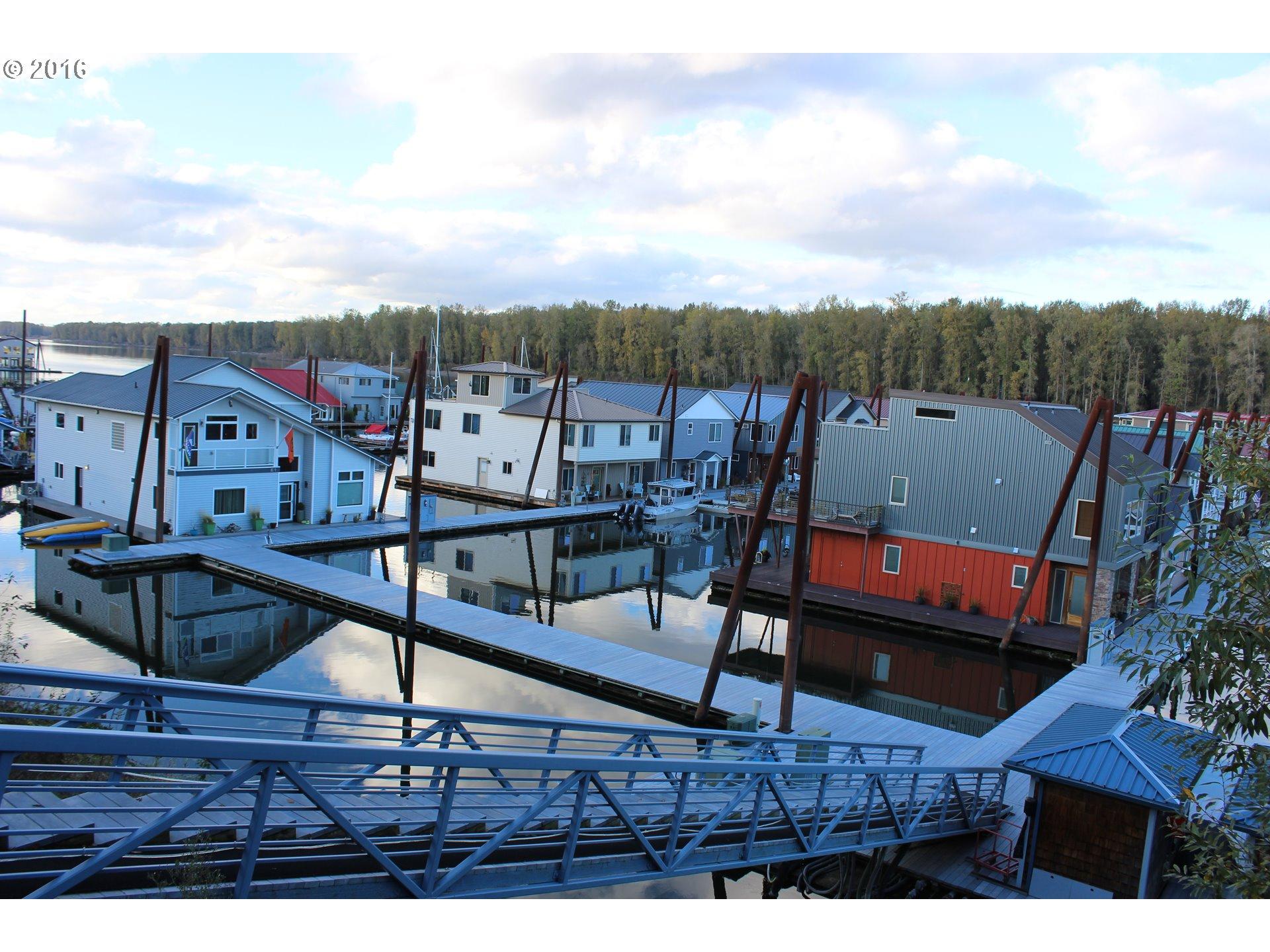 Floating Homes for Sale in Portland Oregon Floating Home 4 Photo 2