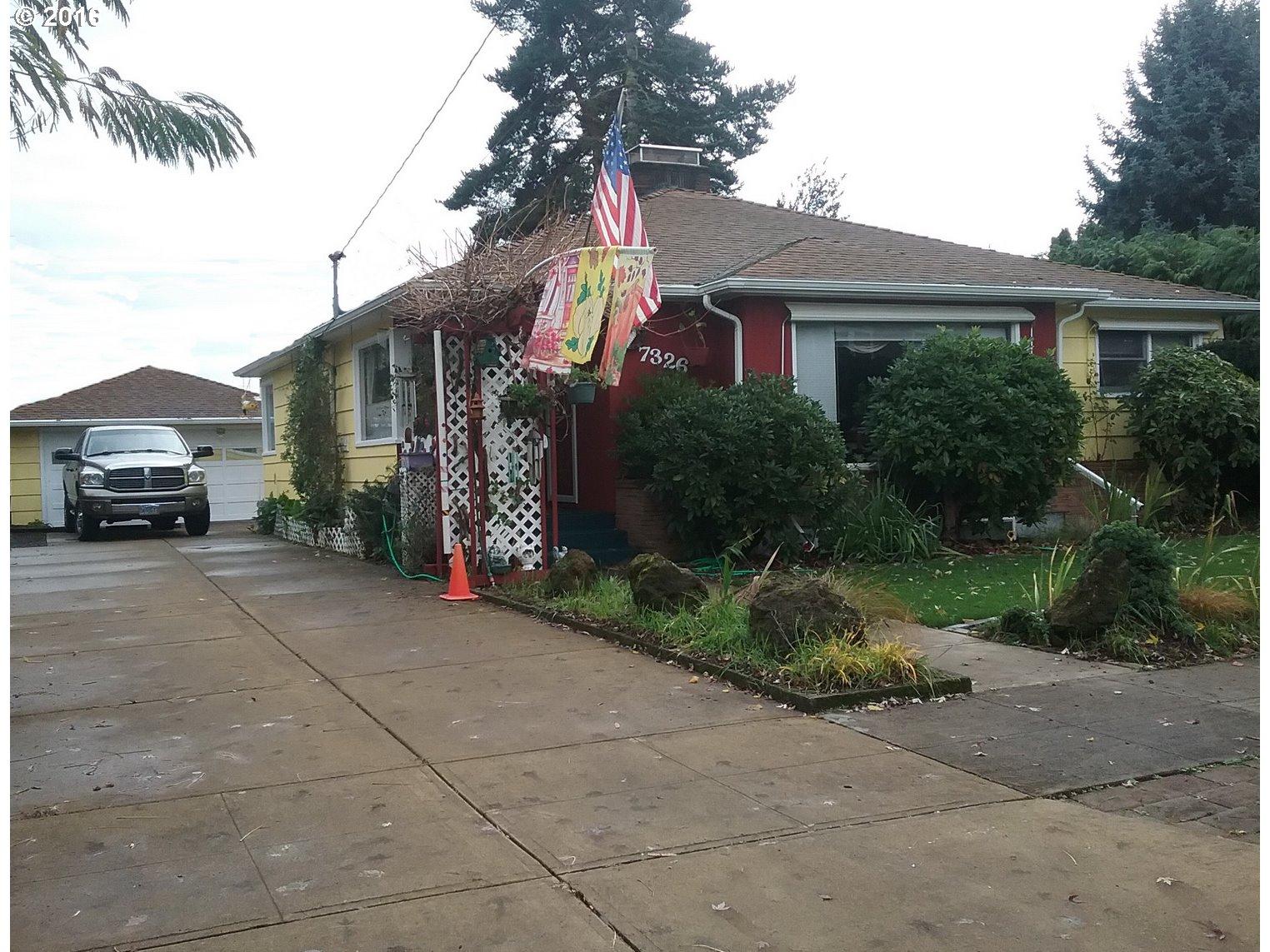 7326 N NEWELL AVE, Portland OR 97203