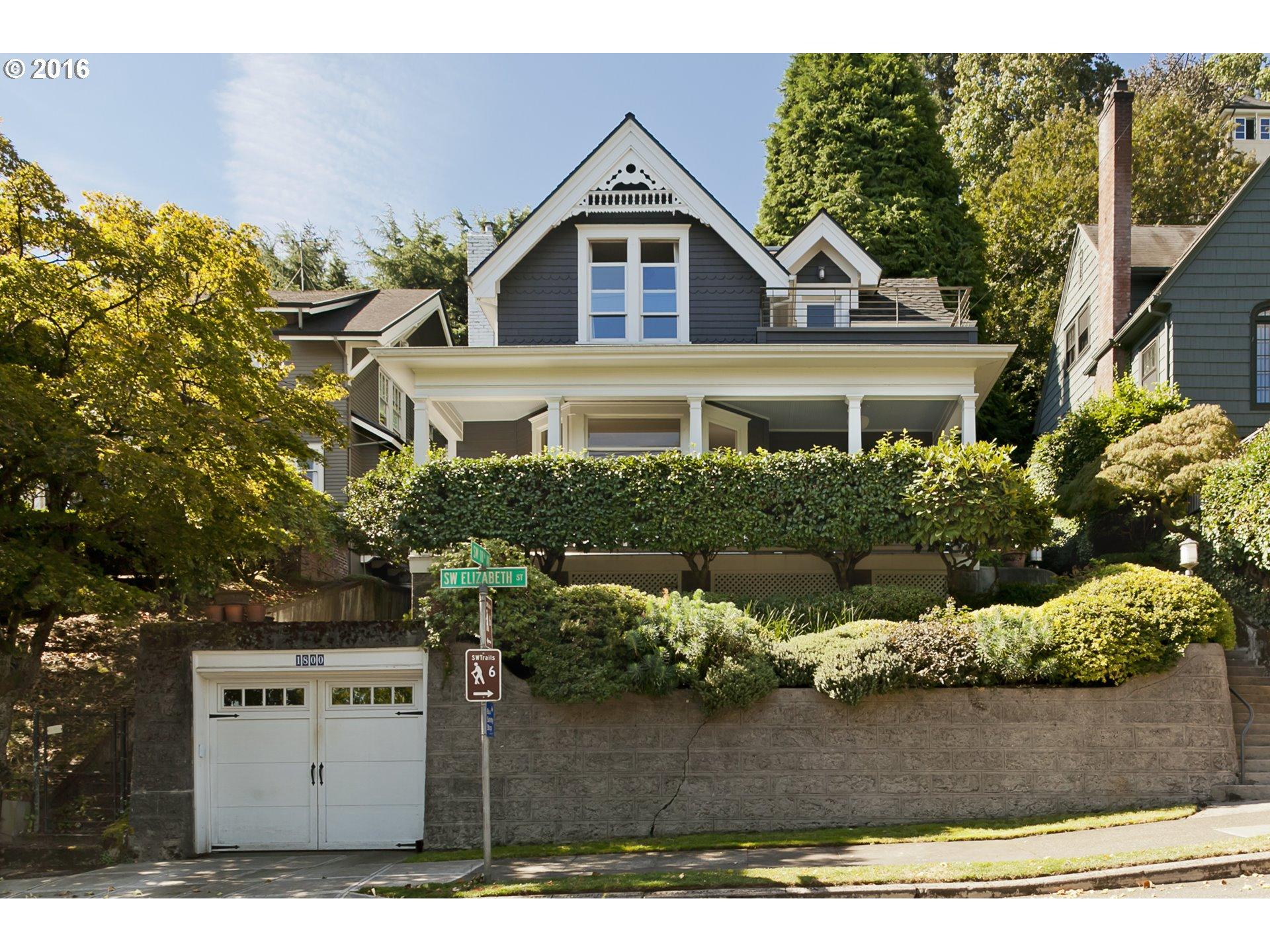1800 SW ELIZABETH ST, Portland OR 97201