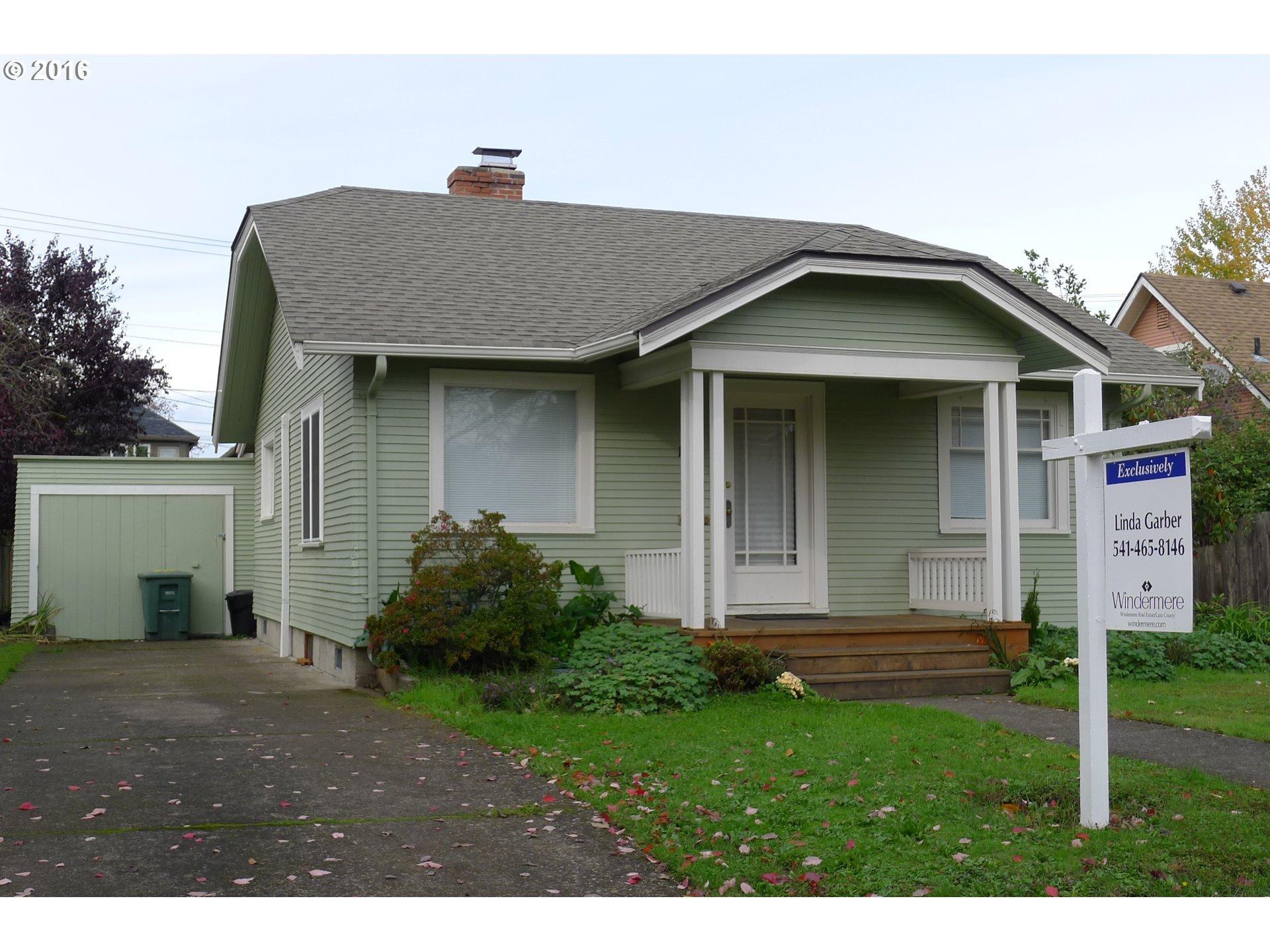 1528 CHARNELTON ST, Eugene OR 97401