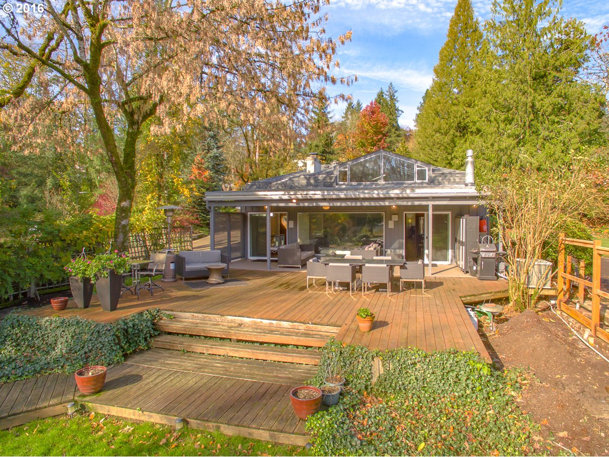 Mid century modern homes for sale suburbs of portland oregon for Contemporary homes portland