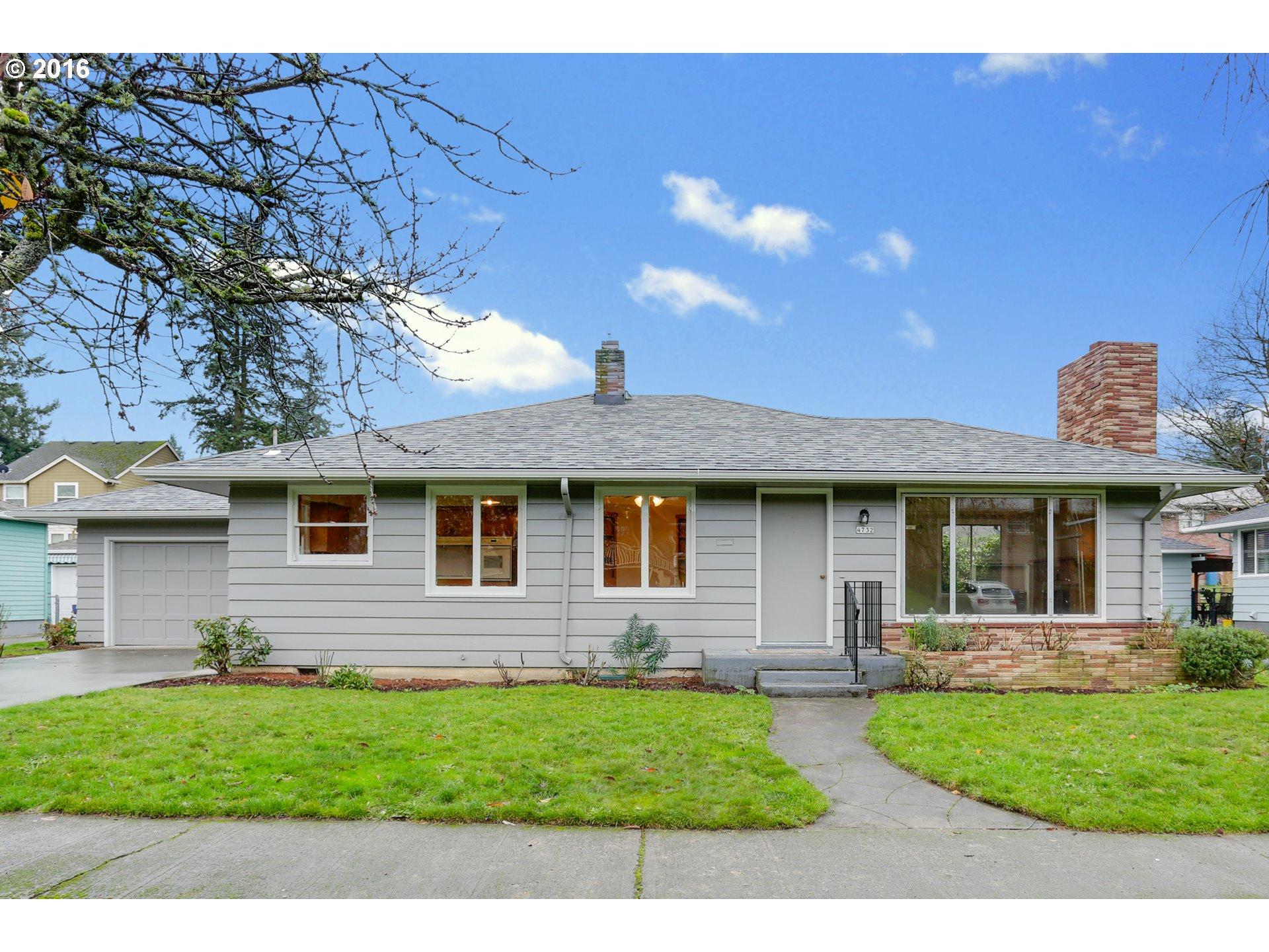 4732 SE TIBBETTS ST, Portland OR 97206