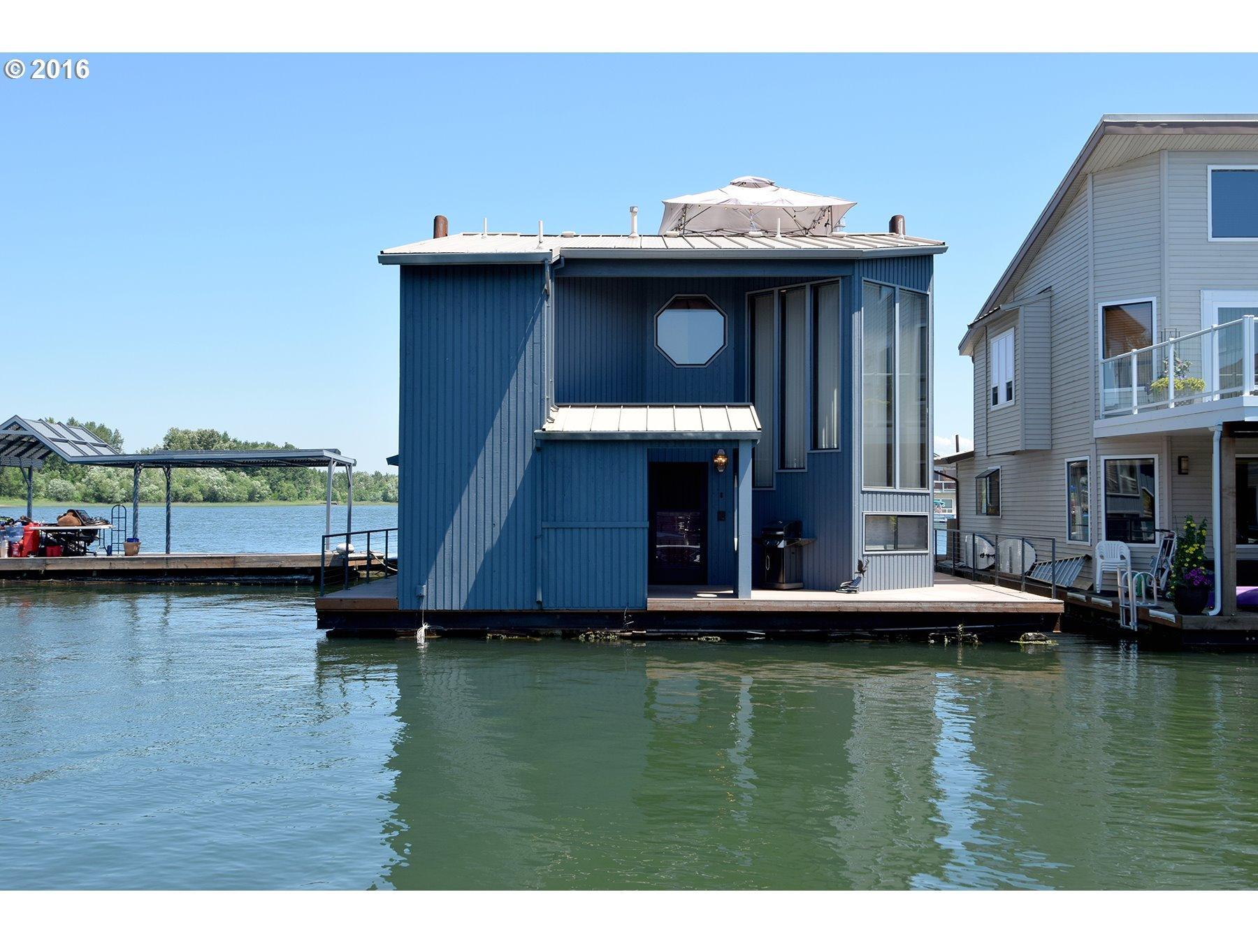 Floating Homes For Sale In Portland Oregon Floating Home