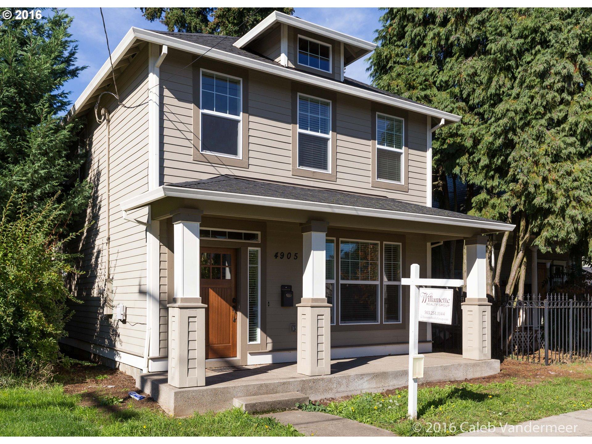 4905 SE 65TH AVE, Portland OR 97206