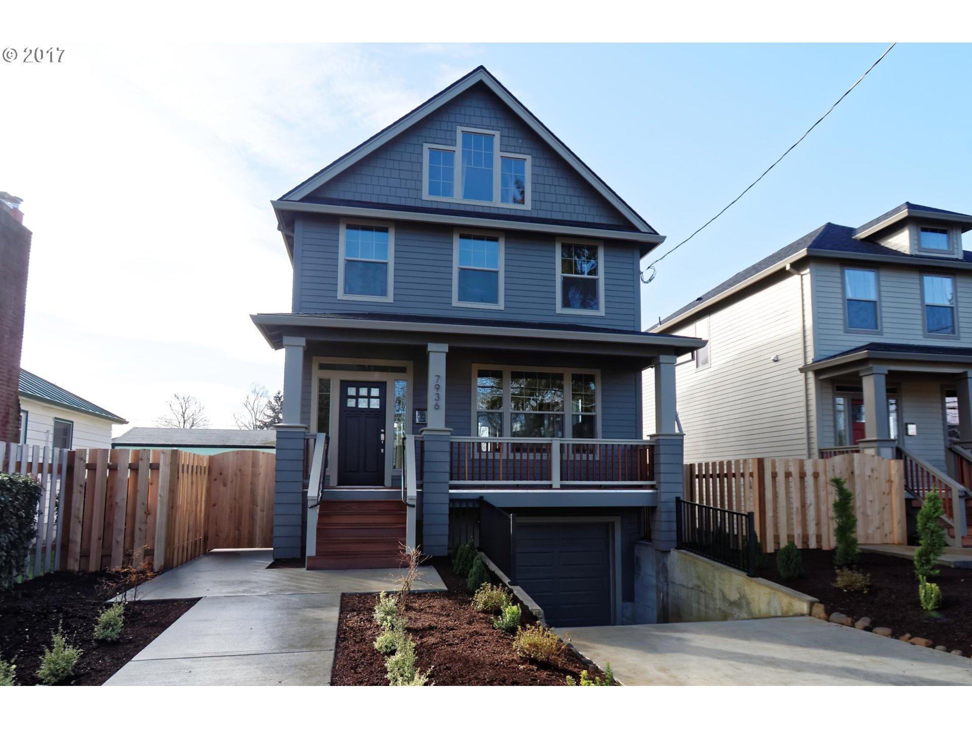 7936 SE RAYMOND ST, Portland OR 97206