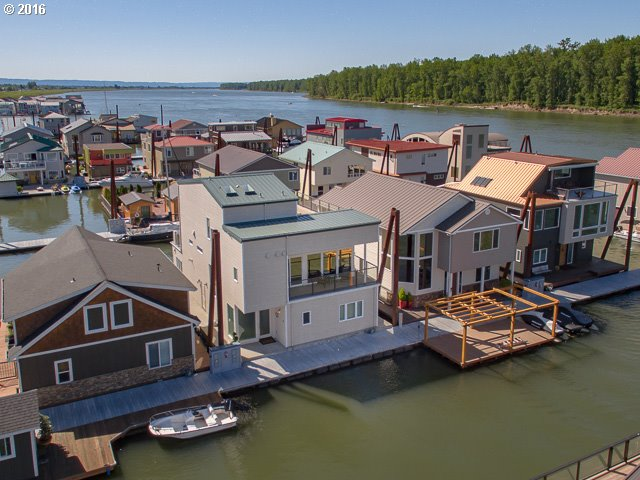 Floating homes Portland floating homes