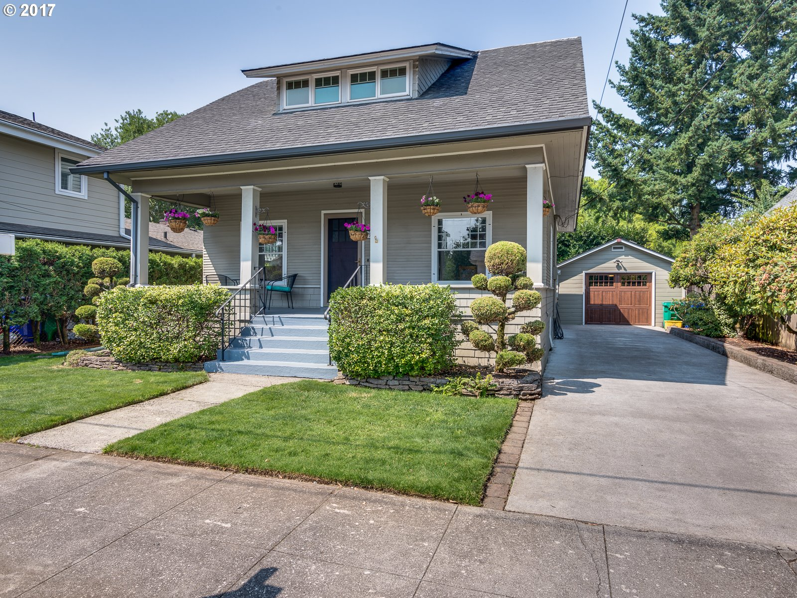 Close-in Classic Craftsman in desirable Overlook neighborhood. This lovingly maintained home being sold first time in 33 years! You'll love the original charm, period details,front porch,hi ceilings,spacious kitchen,forced air gas/AC,fenced backyard & oversized garage.Barbecue on patio w/flower-adorned pergola.Close to MAX,I-5,downtown,Adidas, New Seasons,restaurants,parks.This well-kept historic charmer is what you've been waiting for!