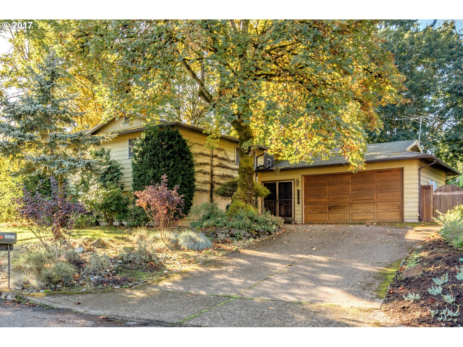 Wonderful location just a few blocks from the Willamette River in the Robinwood Neighborhood.  This roomy Daylight Ranch has two master suites, large rooms, two fireplaces, and a spacious lower level with wet bar that's perfect for entertaining.  Hardwoods on the main floor. Needs some updating, but perfect for the buyer who wants to have some fun making it their own!