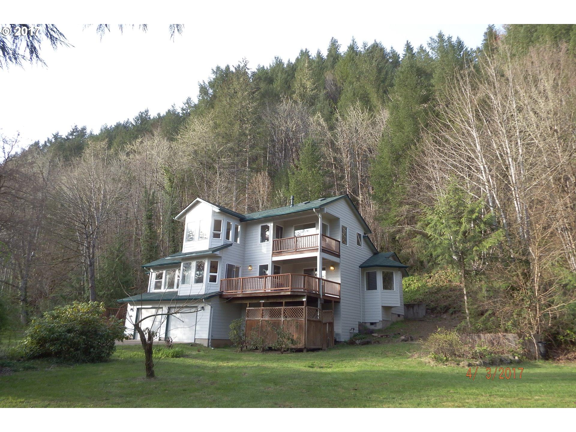 45663 N Gate Creek RD, Vida, OR 97488