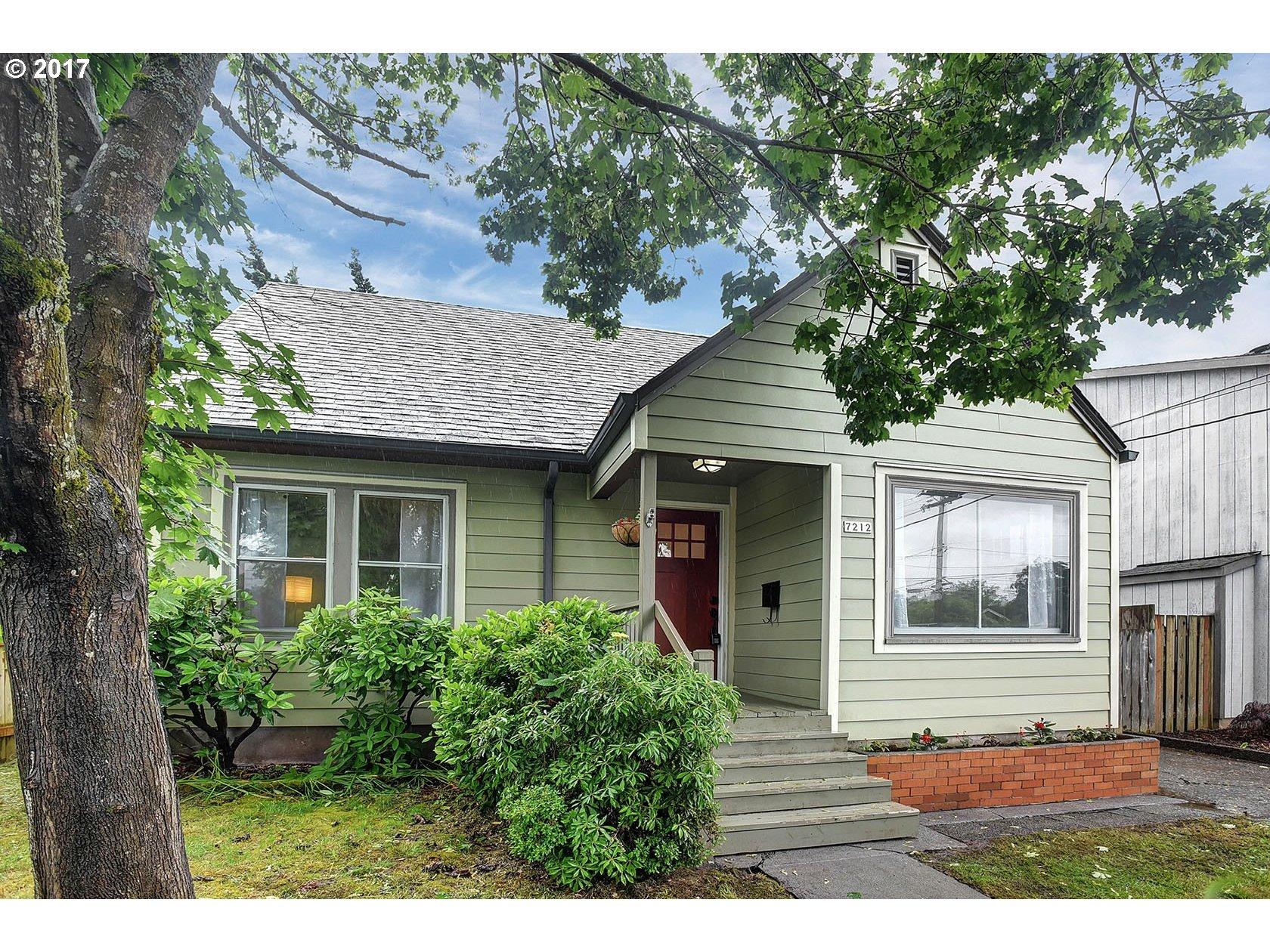 7212 N CENTRAL ST, Portland, OR 97203