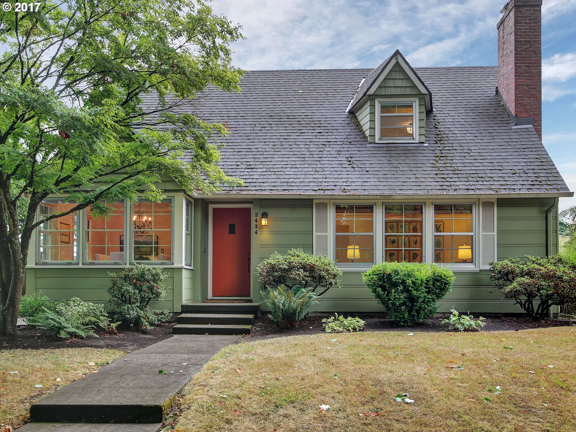 OPEN SAT 9/23 1PM-3PM!! Classic CapeCod in Portland's historic Irvington n'hood with abundance of character & lovely period details.This charmer features a light-filled living room w/wood burning fireplace, prvt dining rm and cozy kitchen that opens to outdoor patio.Gleaming hardwoods thruout. Upstairs boasts 2 addl. beds, including the master & fully-remodeled bathroom. Level backyard w/spacious patio is ideal for outdoor entertaining!