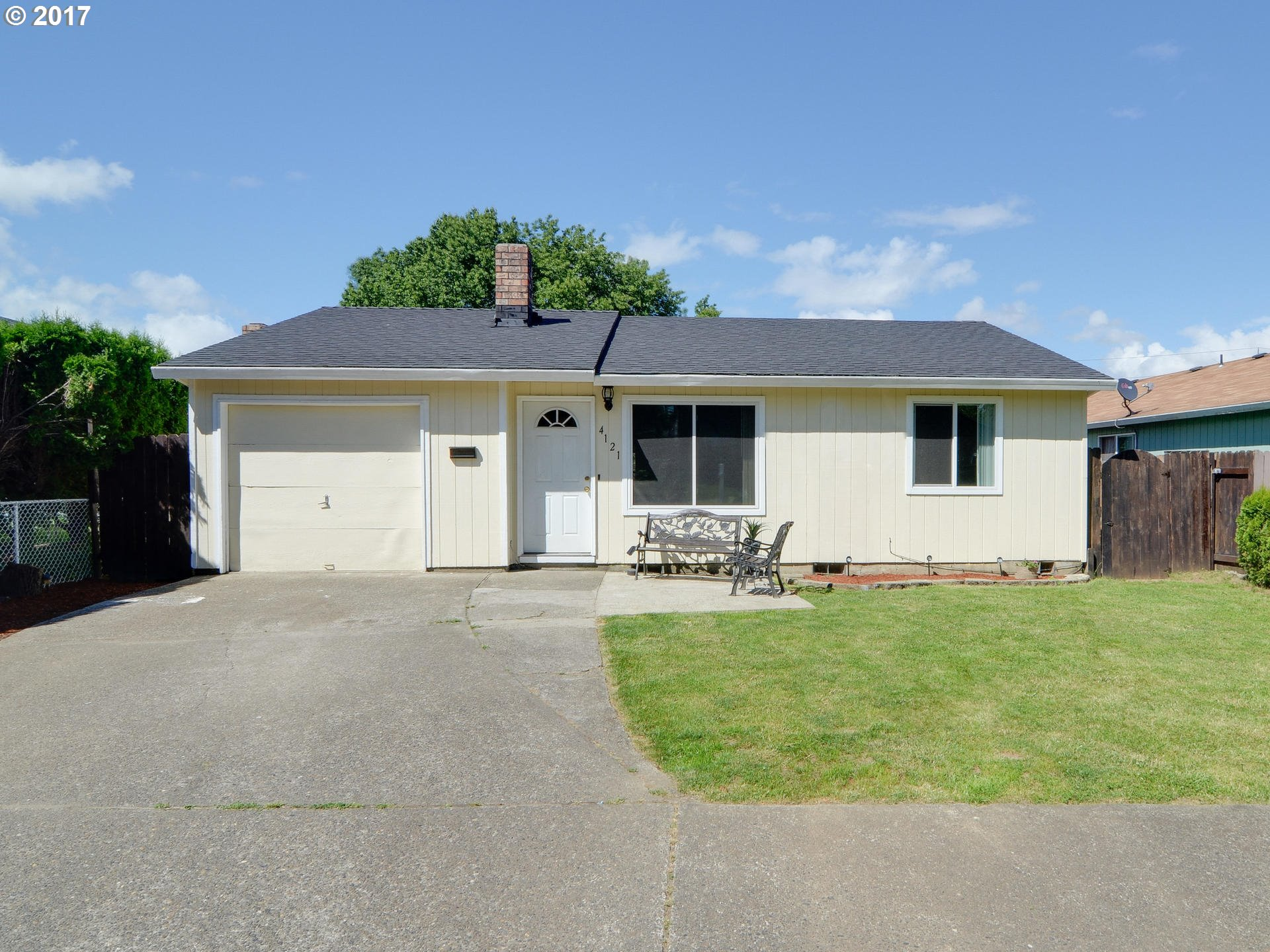 This cozy Piedmont ranch offers a new roof, new vinyl windows in the front, new interior and exterior paint, wood-burning fireplace and a covered patio for entertaining. A fully-fenced, large backyard abutts a walking path. Located in a quiet neighborhood on a dead end street, this is a great starter home! Easy freeway access. Garage partially converted to a utility room. It can easily be converted back. OPEN SAT 8/19 11-1