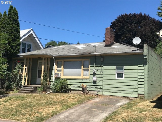 Solid ranch in great close in location. Nice sized bedrooms!  Hardwood floors throughout under carpet.  Garage converted to another bedroom or office along with another living area and laundry room not included in square footage.  Nice terraced backyard with greenhouse and shed. R2 zoning.