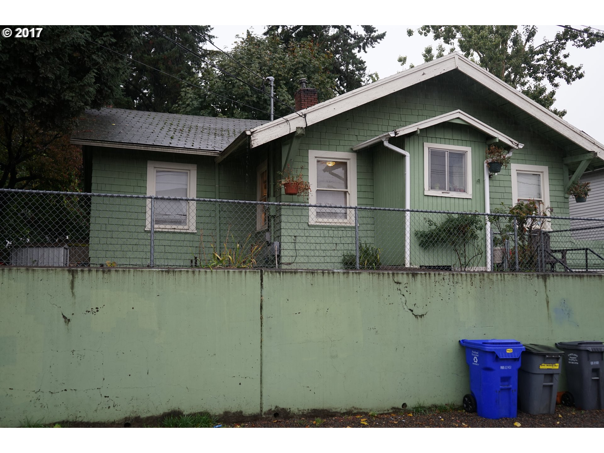 "Priced to sell! One story fixer home with basement built in 1913. Home has attached garage & additional bonus rooms. County states sqft at 1136 buyers to verify & due their own due diligence. Easy access to I-205 & close to PDX airport. Property is being sold ""as-is"". Buyers to supply proof of funds or pre-approval letter attached with offer. Zoned RS. Cash offers are recommended."