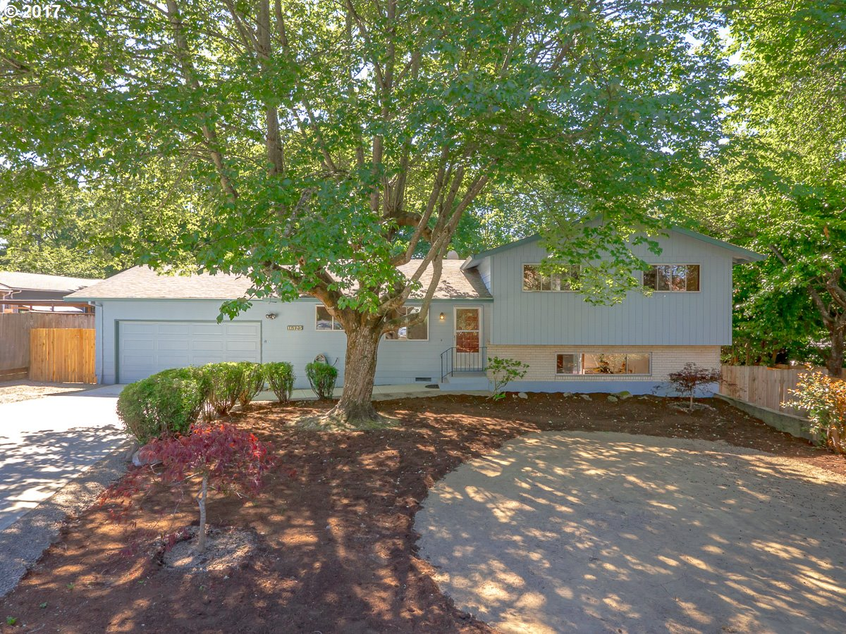 Open Saturday 8/19 1-3pm. Excellent 3 bedroom, 3 bath, split level on 1/3 of an acre. Put your personal touches on this well built, well cared for home. Enjoy the open kitchen w/ ample counter space, a great spot for entertaining, plus home has a living room w/ fireplace, & very large family/rec room. 3 bedrooms up, including master suite w/ full bath. Brand new driveway, plus RV parking. Large, fenced backyard w/ two decks.
