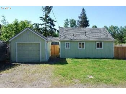 Great location minutes to shopping (Cascade Station) and easy access to I205. New flooring and interior paint. Located in industrial zoning this home provides unique opportunities to work from home, ie.mechanic/grow/retail, call for zoning package. Buyers please do your due diligence for approved uses and financing options. Do not disturb the tenants. Call to schedule a private showing. New commercial lease until 6/1/2018 at $1,395/mth.