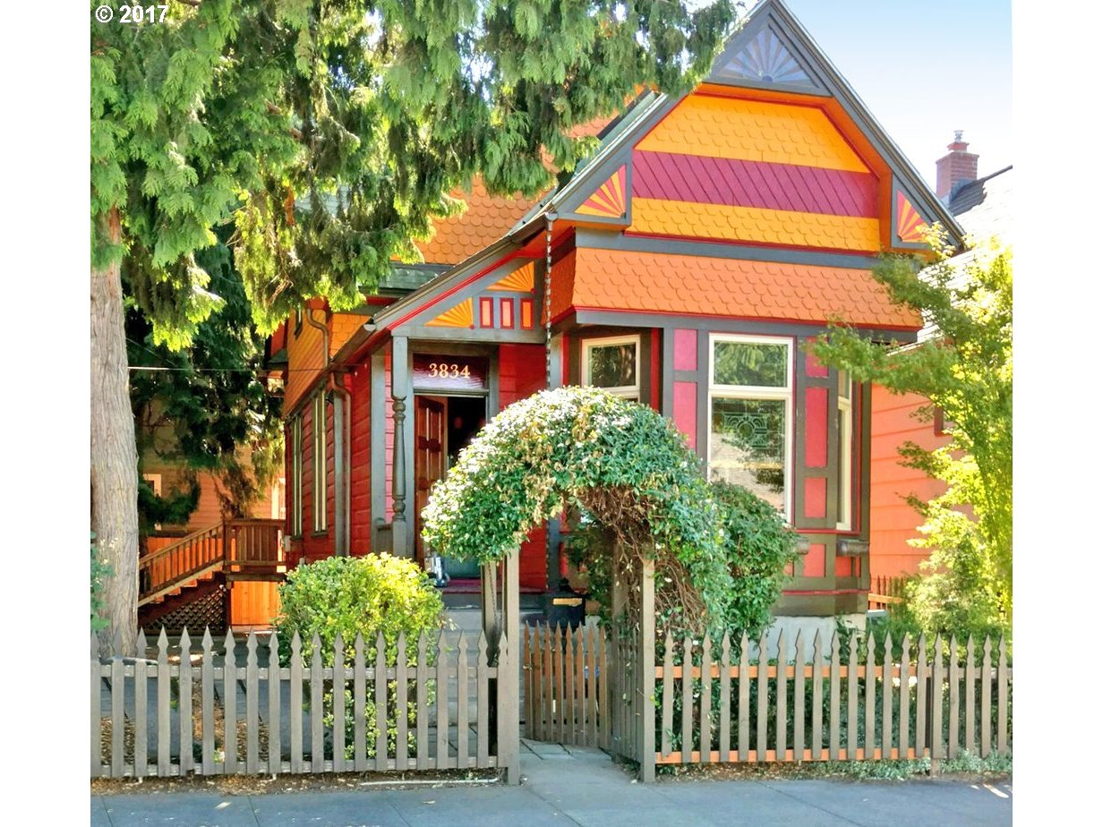 Just reduced 10K! Own a piece of Portland History..this Grand Lady is what the Mississippi Arts District is ALL about!This Circa 1891 Victorian is a gem of a home,with clever and creative use of vintage and reclaimed materials.Perfect for ADU living or Air BnB-2nd living area w/full bath and kitchen.Updated systems include plumbing,AC,foundation work and more.Who needs a car in this amazing location-walk or bike everywhere!