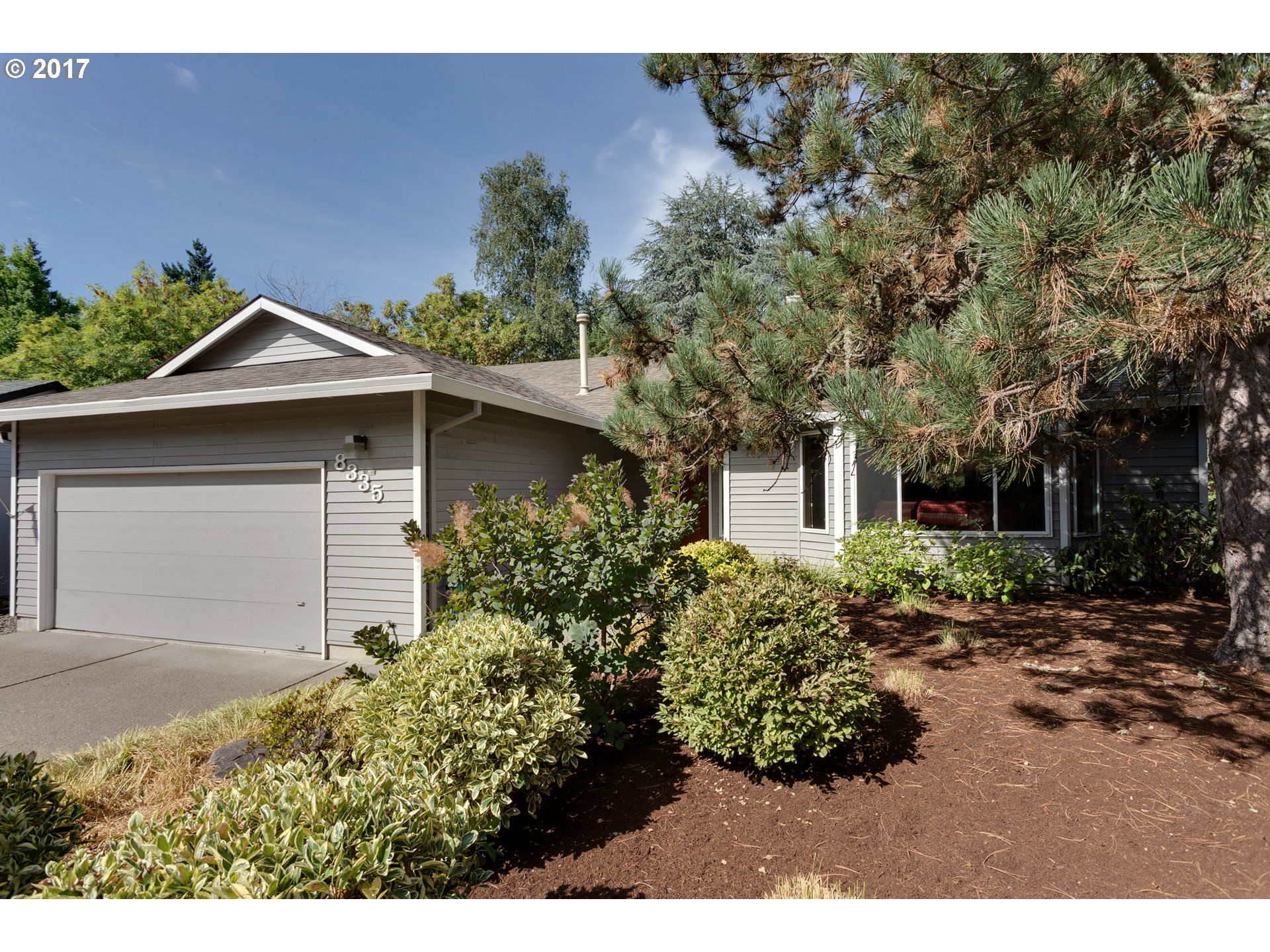 Beautifully Updated 1700 SF 1 Level on Cul-Se-Sac w/Great Floorplan! Kitchen: Island w/Eating Bar, New Maple Cabinets w/pull out drawers, Quartz Counters & Pantry. Updated Bathrooms. Newer Vinyl Windows. Newer Carpet. Master Bath: Dbl Sinks, Skylight & 2 Closets. Backyard: Huge Deck, Newer Fence, Shed, Low Maintenance & Drip System. Roof 2009, Water Heater 2016. Cedar Siding. Walk to 30 acre Highland Nature Park, close to HWY 217.