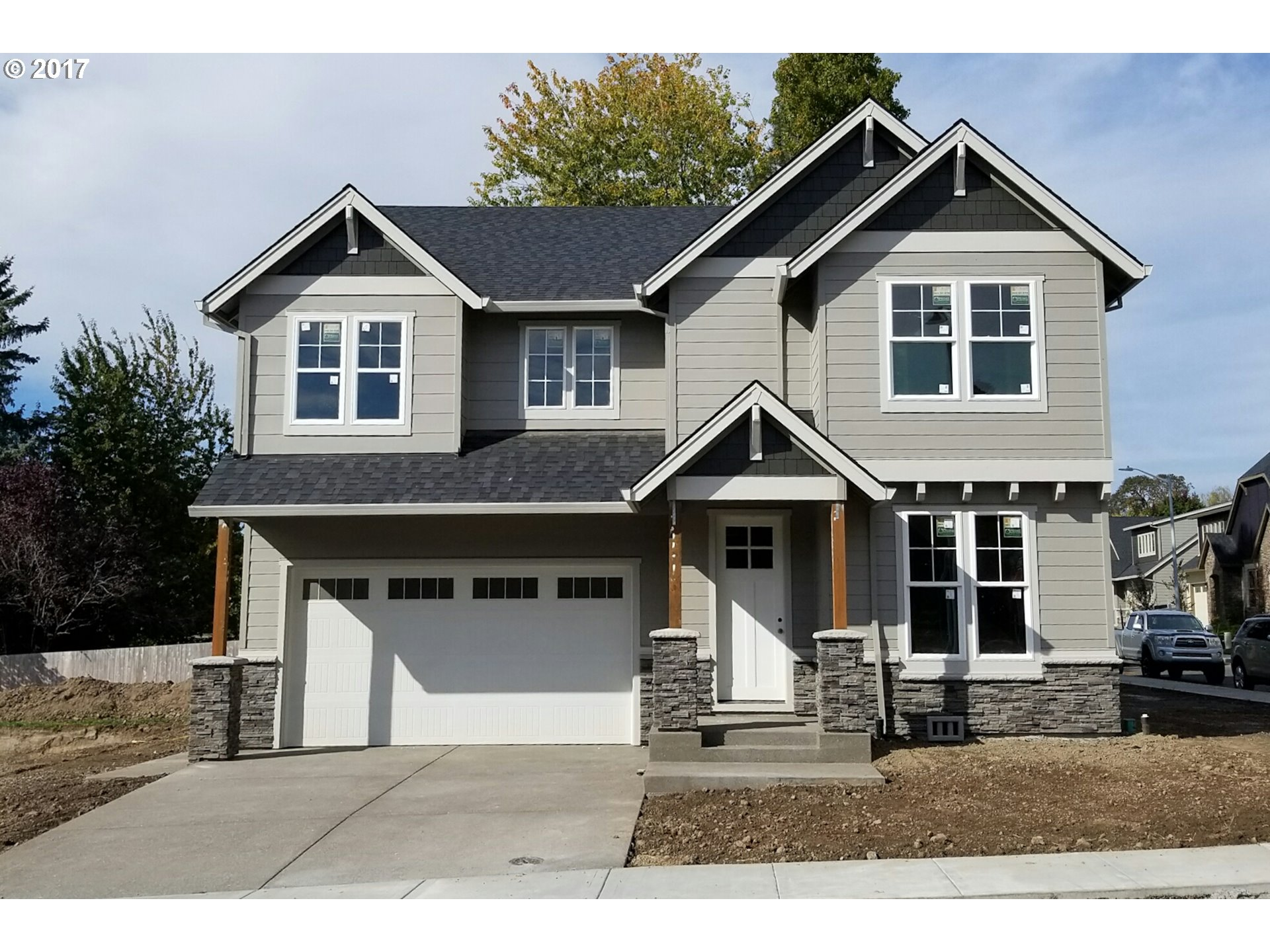 """Builder Bucks"" $8000 towards closing costs or upgrades. Oak Grove's newest neighborhood Concord Oaks. Open floor plan with designer finishes. Slab granite kitchen counter. SS Appliances. Covered Patio. Rendering and photos for visual reference only"