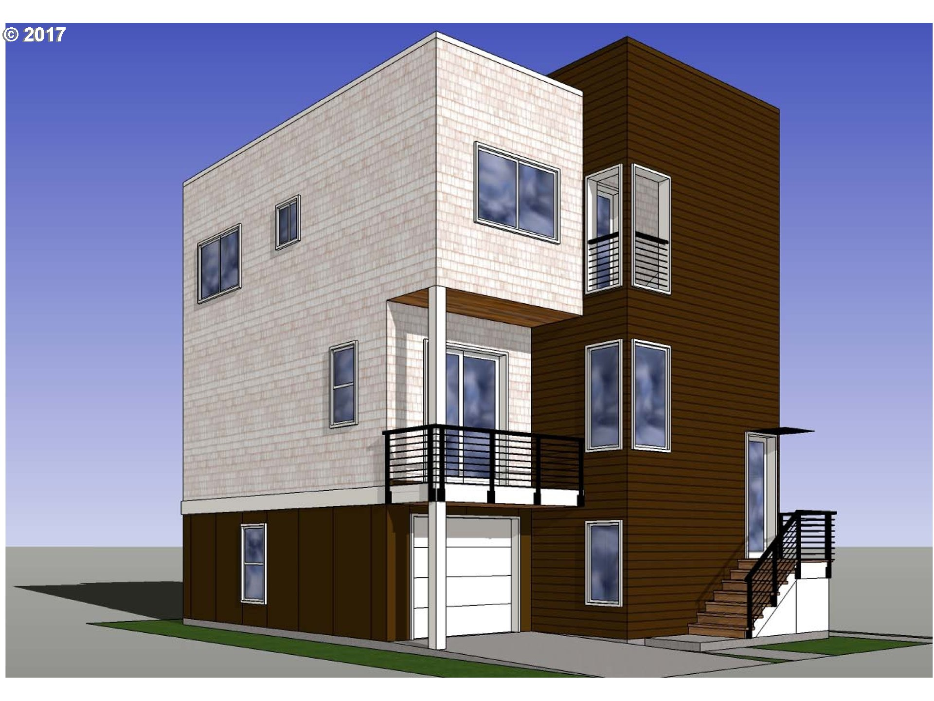 Biker's Paradise score of 92 - Modern living in Humboldt with studio ADU for extended family or added income.  Est completion 8/15 -bike/walk to parks and N Mississippi cafes, restaurants, shopping. Open concept living features H/W floors, hi ceilings, gas FP, dining area and kitchen with eat-in island, quartz counters, SS appliances. ADU has concrete floors & outside entrance. Super cool rooftop deck for outdoor entertaining. No Sign