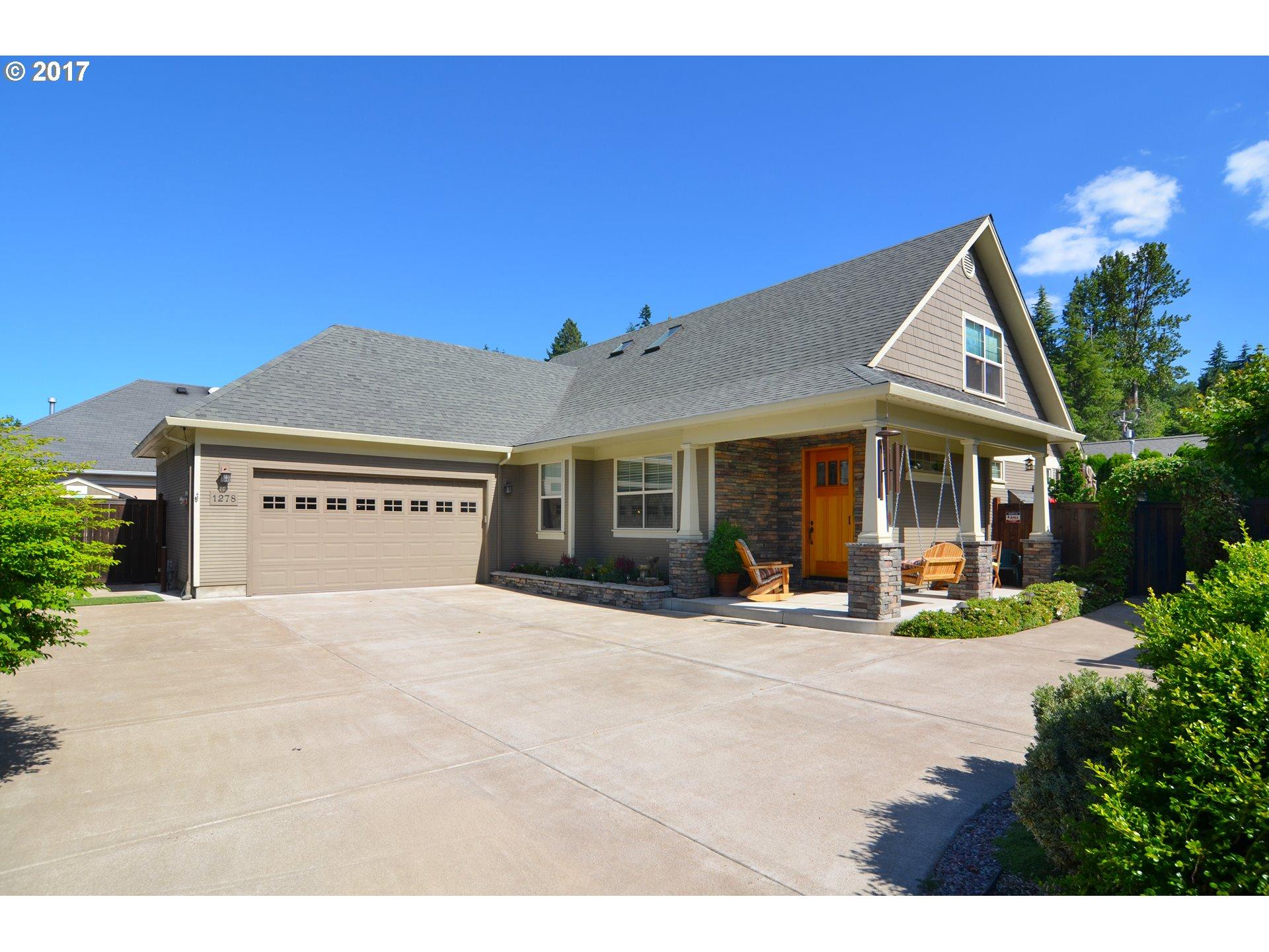 1278 BRICKLEY RD, Eugene OR 97401