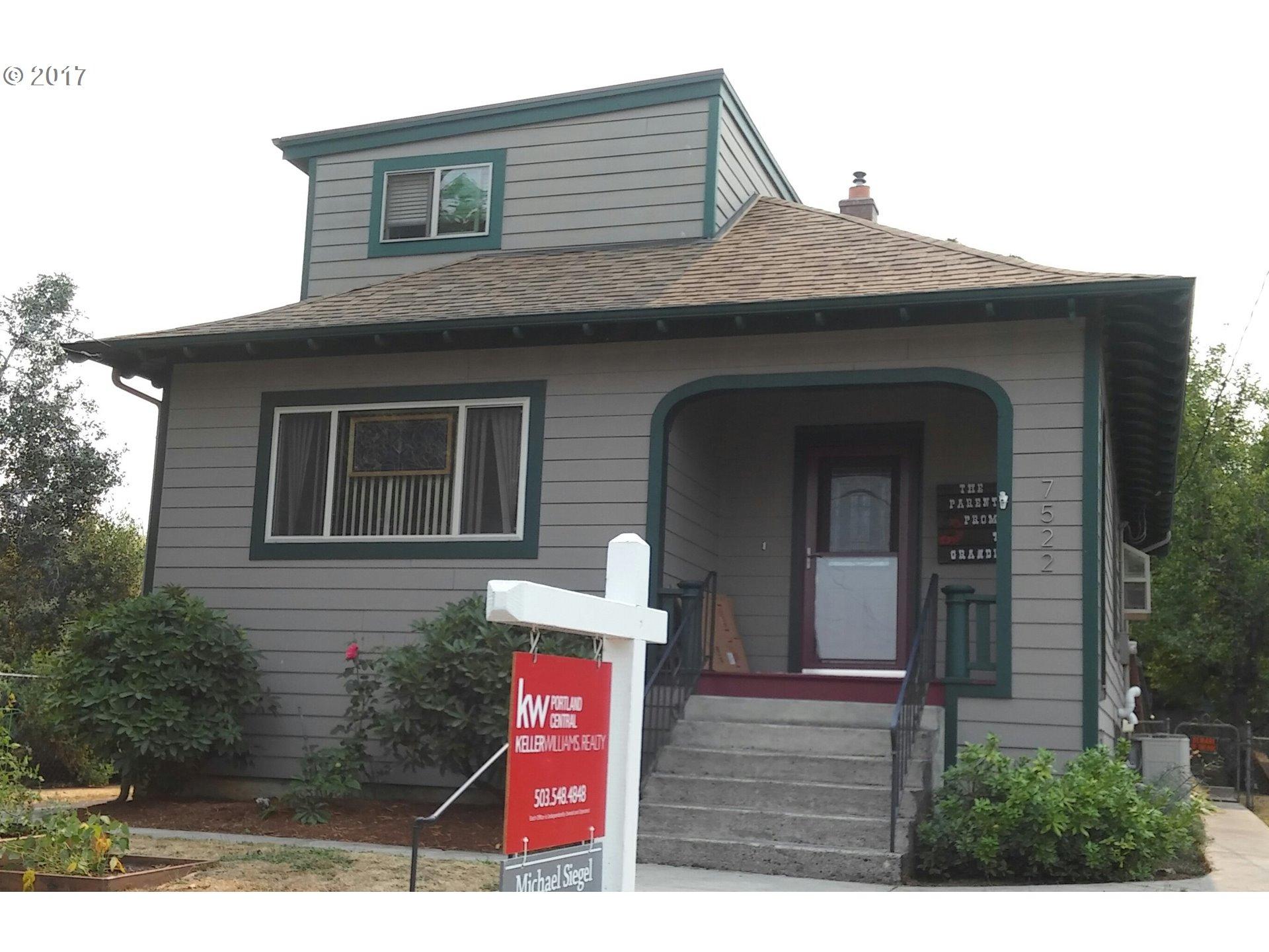 7522 N JERSEY ST, Portland OR 97203