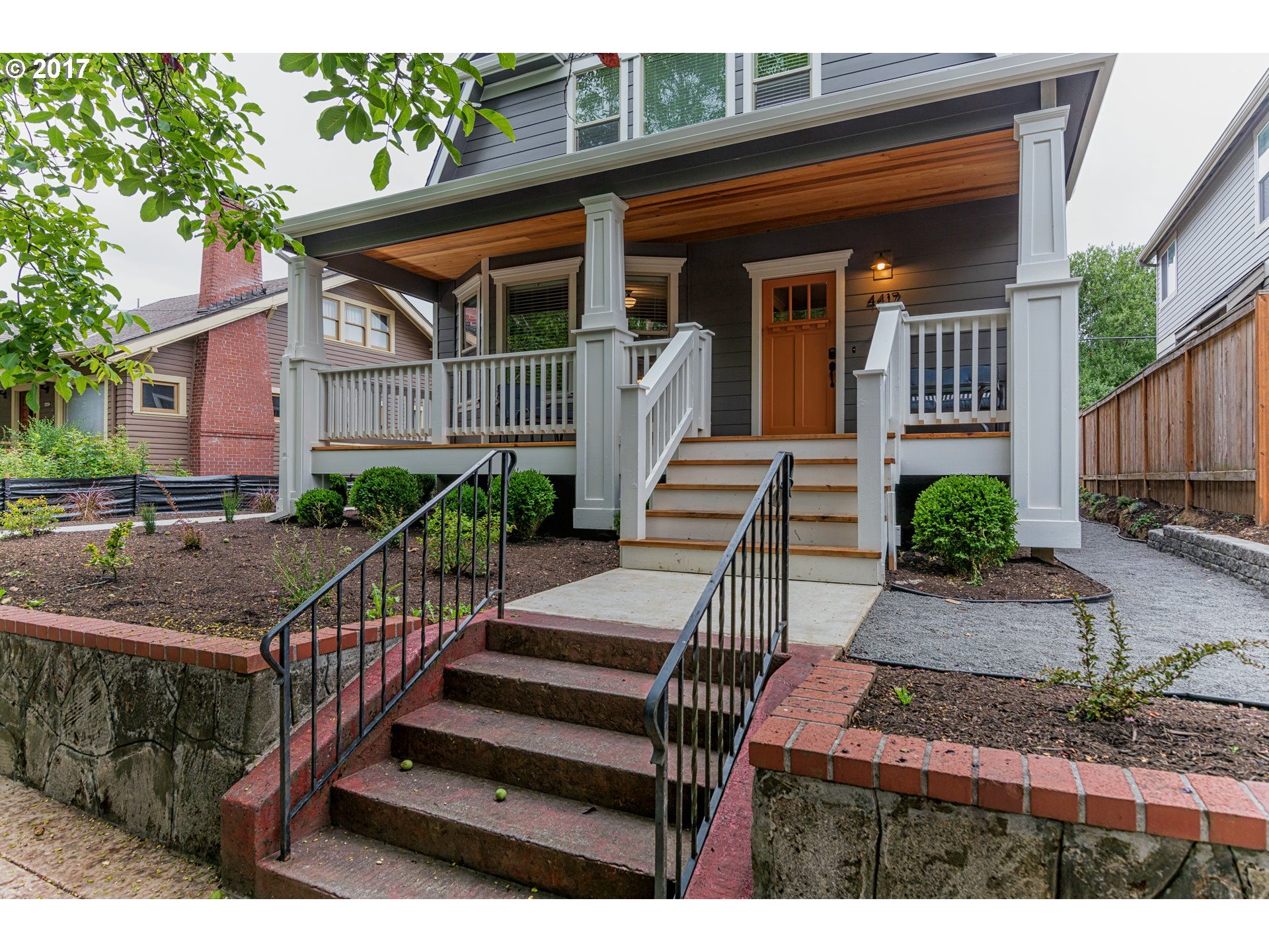Completely remodeled Portland classic bike score 94, min to N Miss/Williams districts. Bedroom & full bath on main plus beautifully refinished H/W flrs, FP, bay windows, dining area w/open kitchen. House: 4 beds & 3 full baths. Basement: Mother-in-law suite-kitchen, LR, 2 bed & full bath w/ext entrance. Addt'l 904sf is permitted 2-story ADU in back w/kitchen, LR, 2 beds/1.5 bath. Monthly income $7K. O/H Sat 12/16 & Sun 12/17 11:30-1:30.
