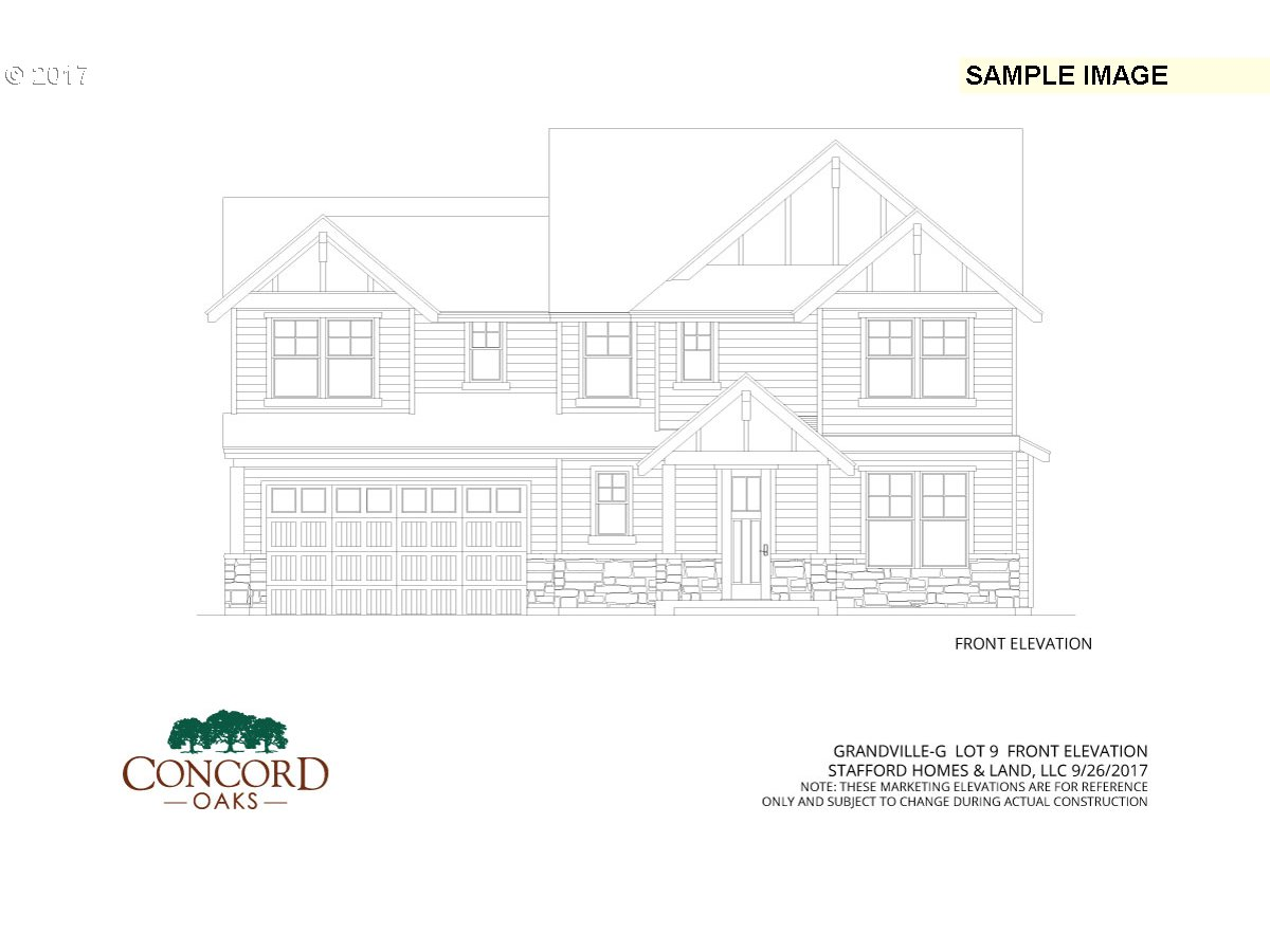 """Builder Bucks"" $8000 towards anything. Oak Grove's newest neighborhood Concord Oaks. Open floor plan with designer finishes. Slab granite kitchen counter. SS Appliances. Covered Patio. Rendering and photos for visual reference only"