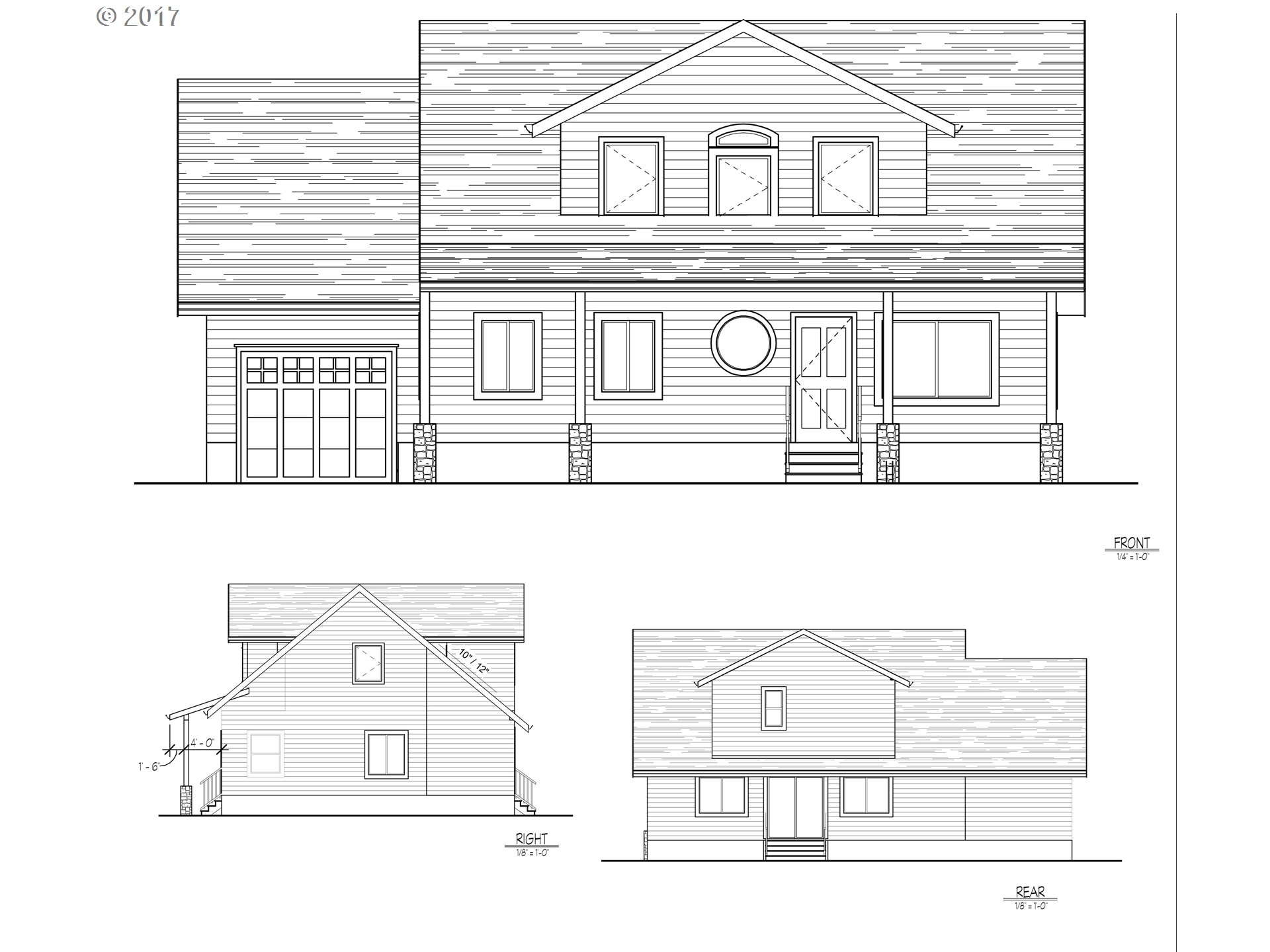 Great opportunity to build in Prime location! Images are of plans currently submitted to the County. The existing structure is gutted and ready for remodel. Options for the property include: Expanding existing home, Keep house & draw up flag lot, or Develop up to 4 lots. Sale includes property and plans. Amazing location, near Nike / Reser Foods / Walking distance from Max Line. Across the street from Tualatin Hills Nature Park