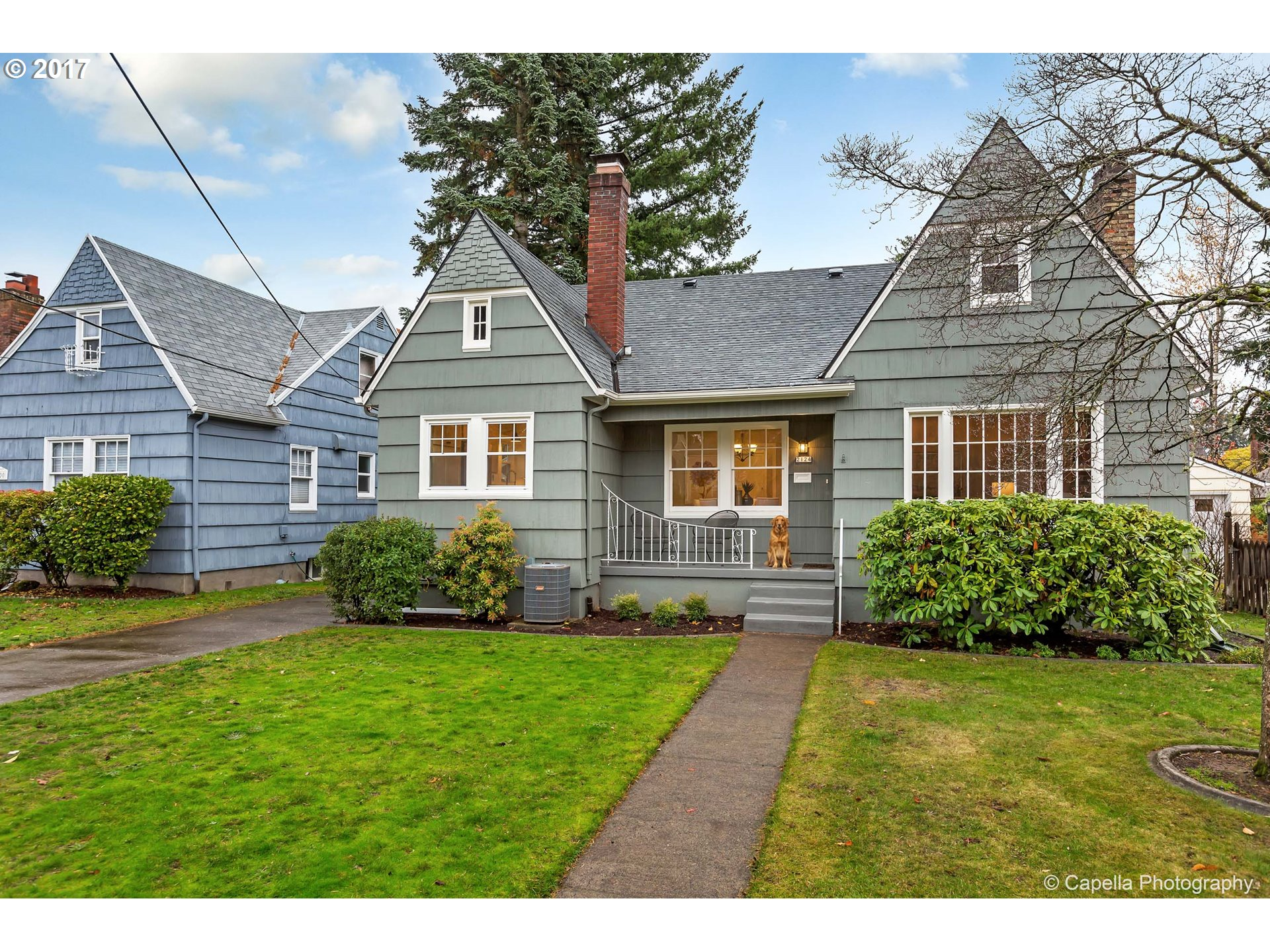 OPEN 11/18-19 11-2. Meticulously restored and updated +3k sqft home in Rose City Park has beautiful original charm and high-end modern updates. Bright + spacious open layout on main w/ built-ins, modern farmhouse kitchen, fireclay apron sink, quartz, nook. Truly special mstr suite w/ double shwr + large walk-in. New plumbing, high eff. furnace/AC/wtr htr.  Great vibes in a great hood and 1 block to the park! Owner is licensed OR broker.