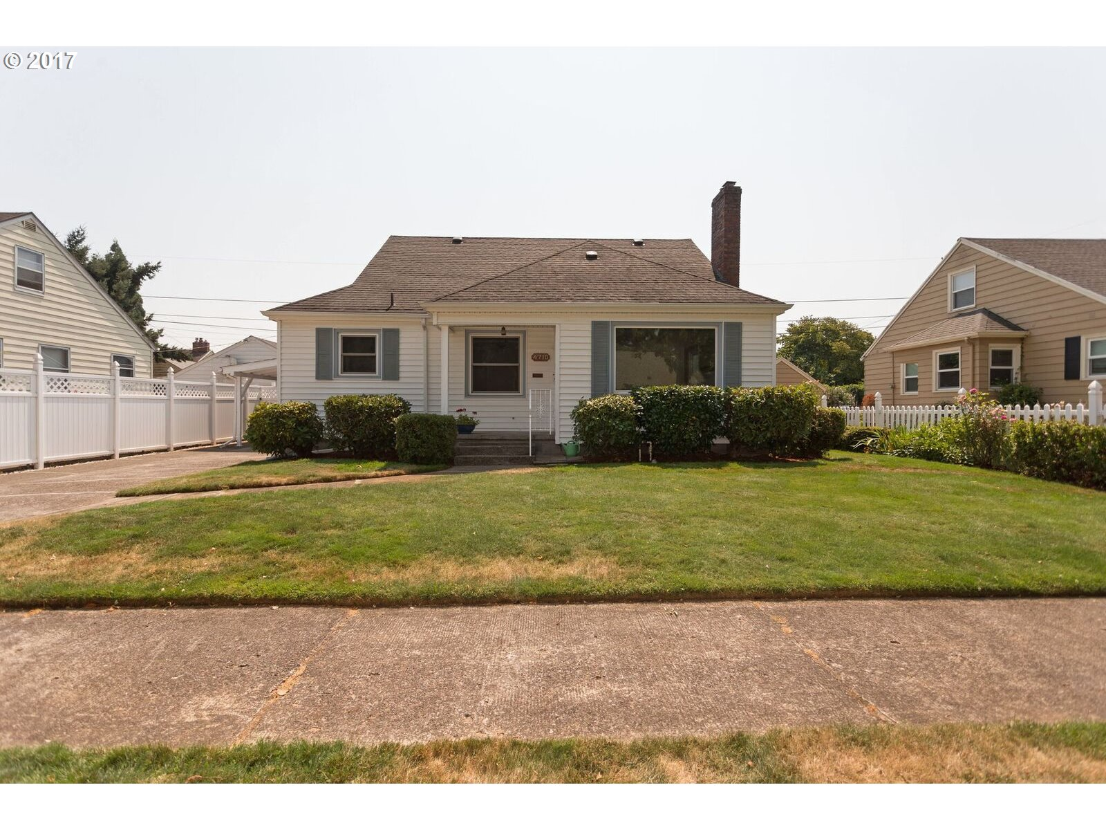 UNIVERSITY PARK Capecod.  Large, light and bright living room with gas fireplace and hardwood floors, formal dining room.  Roomy updated kitchen with eating area.  Finished attic (3rd bedroom) with plenty of storage. Family room in basement with gas stove, bonus room, HUGE laundry room and 2nd bathroom. Back yard has a  covered deck and patio with darling potting room attached to garage plus garden area. A/C and sprinkler system!
