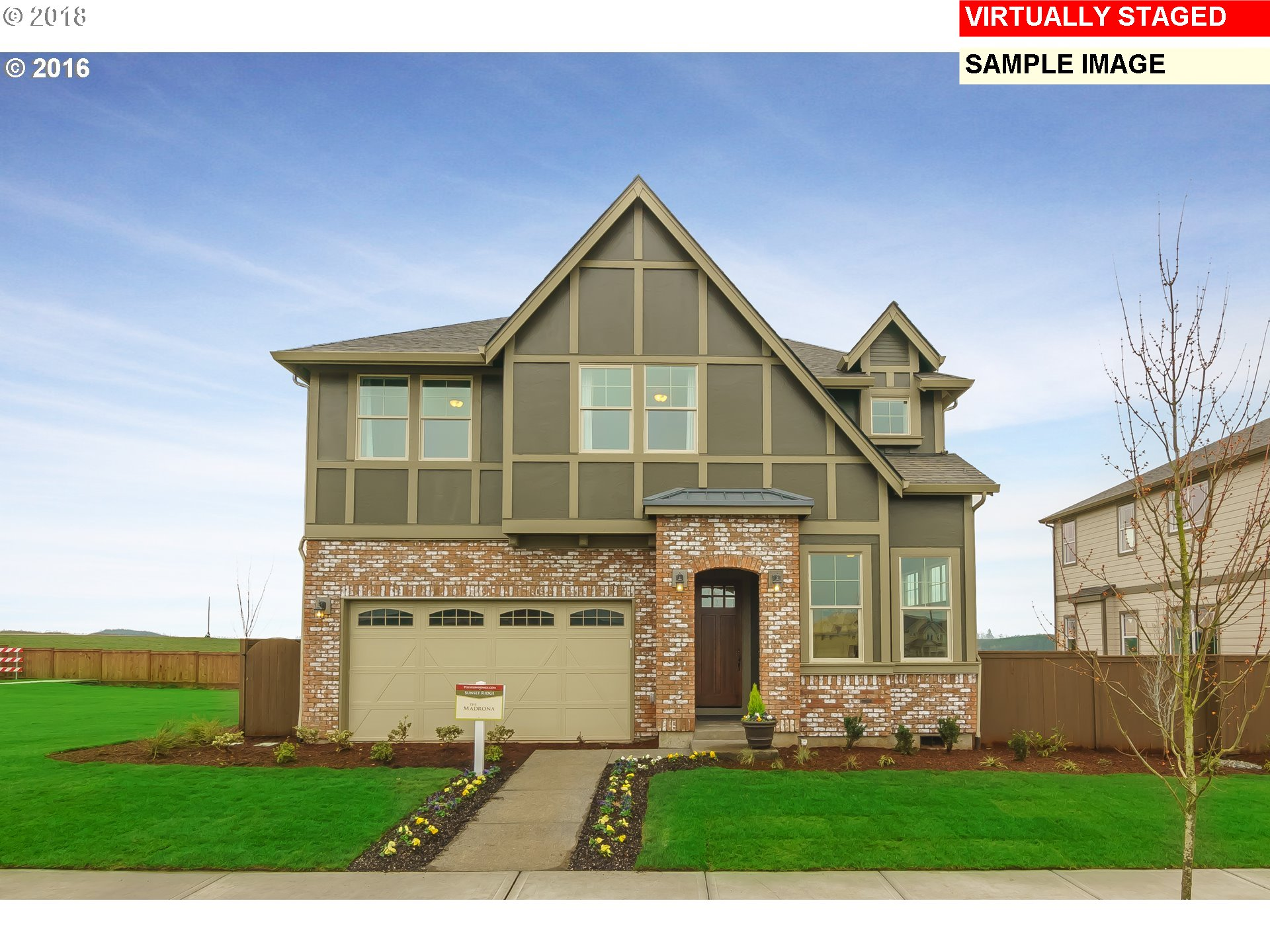 Brand New Master Planned Community! Gourmet kitchen with slab granite island, hardwood floors, & stainless appliances. Large master suite w/ walk-in closet. 3 Year Builder Warranty. Pics are model homes at previous communities. Brand new finish options! Exterior will vary.
