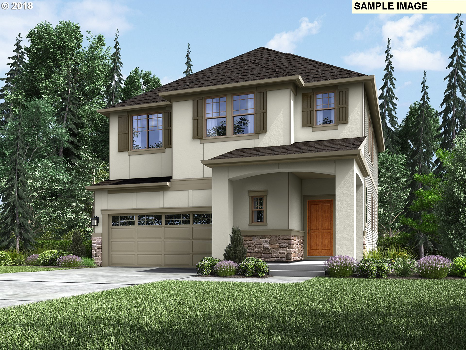 "MUST SEE! AMAZING French-style home at the NEW Eastridge community in the River Terrace planned community! ""Light and Bright"" open floor plan features DRAMATIC 10' ceiling on main level, gourmet kitchen w/ granite island, hardwood floors + stainless appliances! Luxurious master suite boasts 2 walk-in closets, huge soaker tub, walk-in shower and dual vanity! Minutes to shopping + dining at Progress Ridge! 3 Year Builder Warranty."