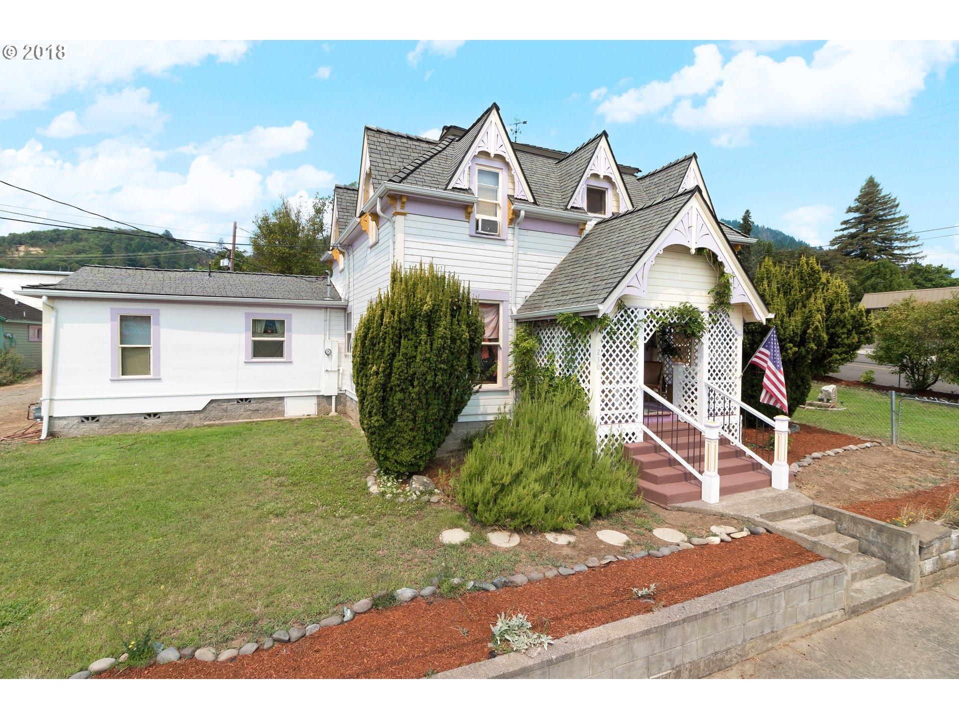 Roseburg, OR 6 Bedroom Home For Sale