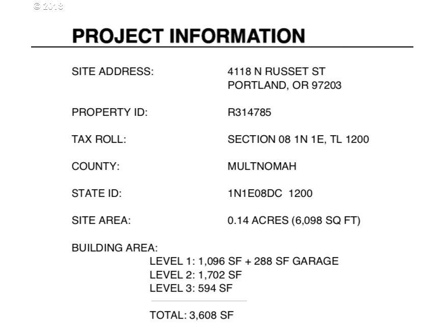 4118 N RUSSET ST Portland, OR 97203 - MLS #: 18398325