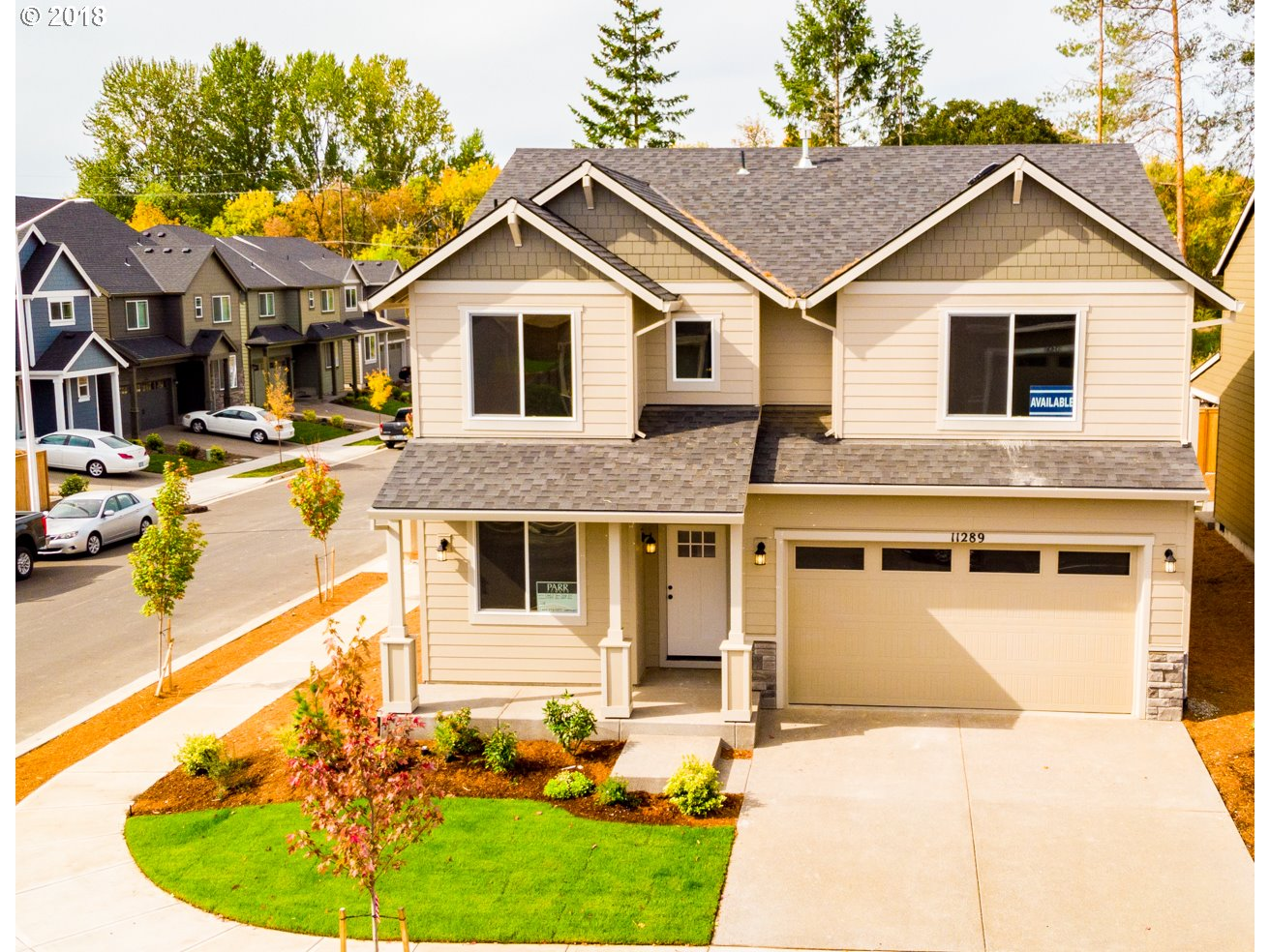 Brand new quiet neighborhood built by long time local builder.  Fantastic location,  only min. to Hwy 26, Hi-Tech, Nike, Intel & shopping.  Next to grade school.  Come see features such as 9 foot high ceilings on main, SS appliances, upgraded flooring, & granite!  Abundance of natural light w/ open  concept living.  Large Master suite, w/oversized walk in closet. Covered back patio for entertaining.