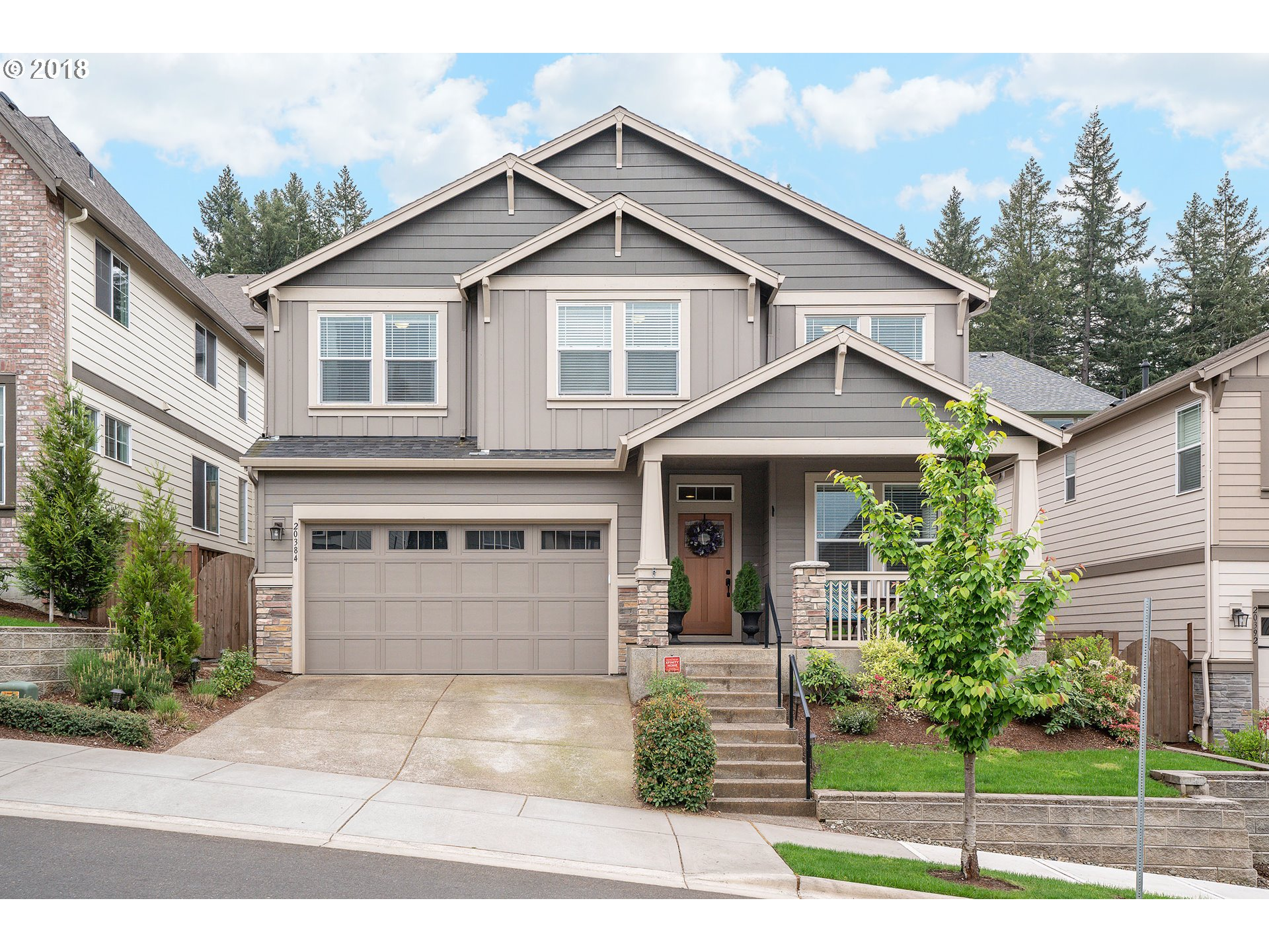 Meticulously maintained craftsman charmer in the quaint Twin Creeks Neighborhood. Perched high on Cooper Mtn, ideally located adjacent to the Jenkins Estate, the Cooper Mtn Nature Park & Cooper Mtn Vineyards. The location offers a plethora of activities at your doorstep. The use of space is exquisite as one space flows to the next perfectly. Amenities include high ceilings, contemporary lighting, granite, hardwoods and so much more.