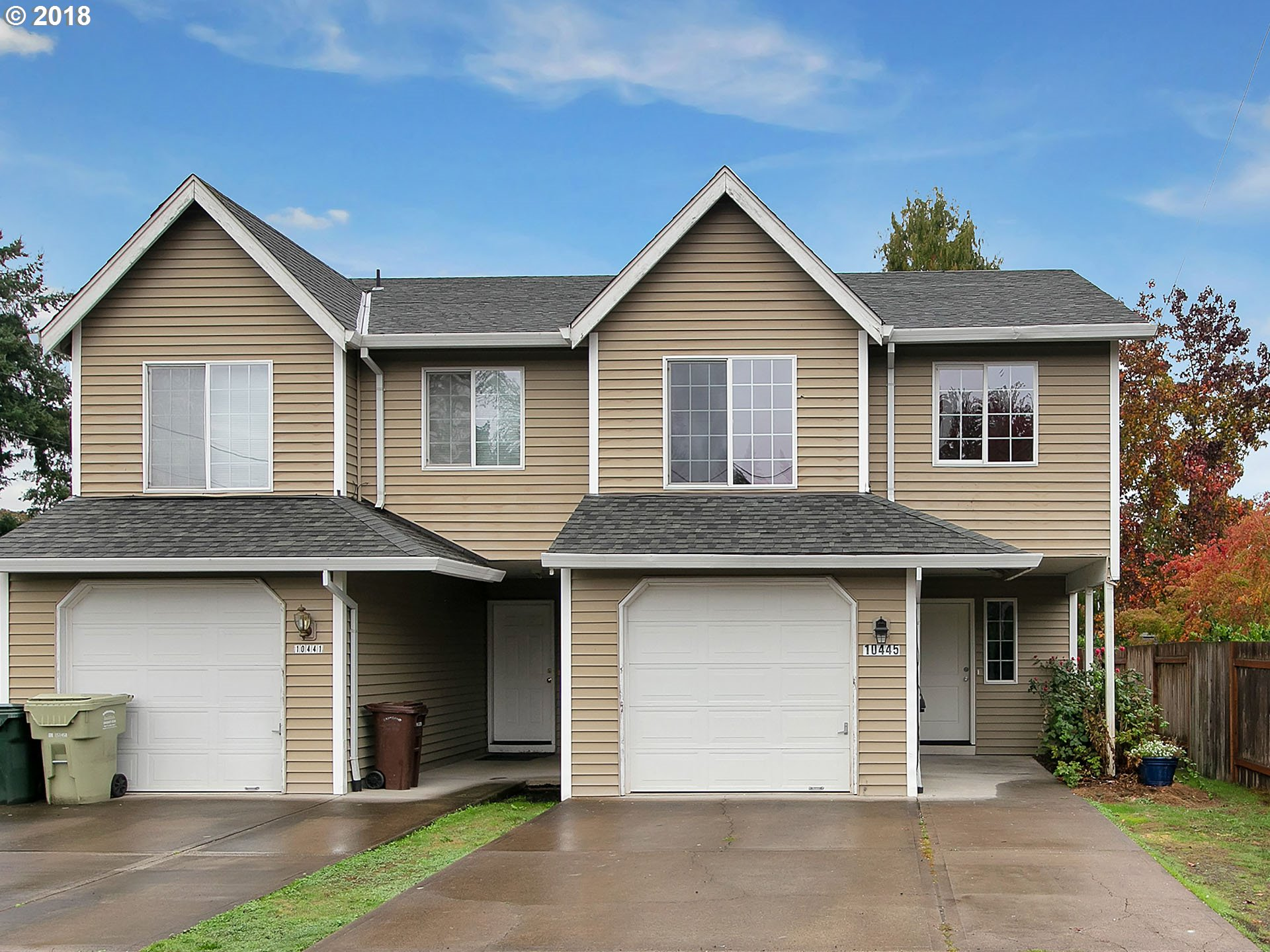 WOW!  Come check this out! Total interior update in August 2018New cabinets/appliances/quartz counters/flooring in kitchen! New interior paint, new interior doors and trim, all new flooring. Gas furnace and WH. Small fenced yard, easy freeway access.  No HOA fees!  Hurry