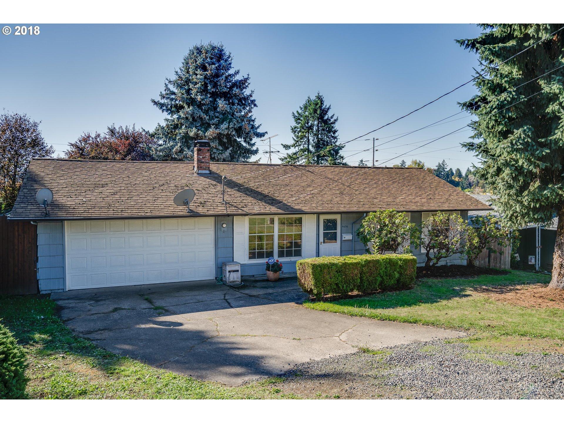 4036 SE ADAMS ST Milwaukie, OR 97222 - MLS #: 18562751