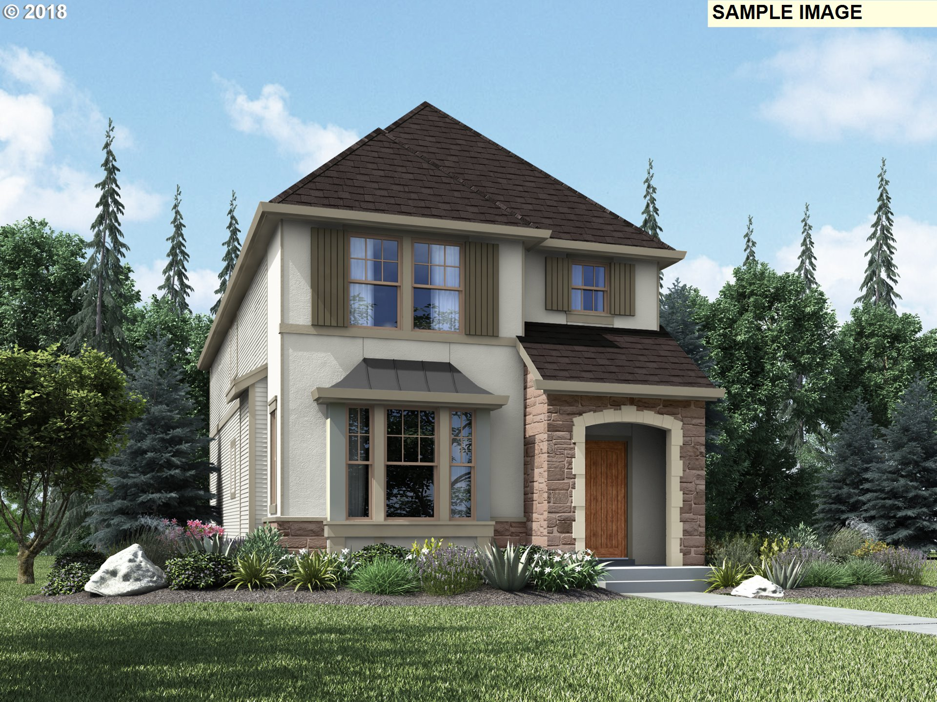 Brand New Master Planned Community! Gourmet kitchen with slab granite island, hardwood floors, & stainless appliances. Large master suite w/ walk-in closet. 3 Year Builder Warranty. Pics are model homes at previous communities. Brand new finish options! French Exterior on corner lot eta Spring Time