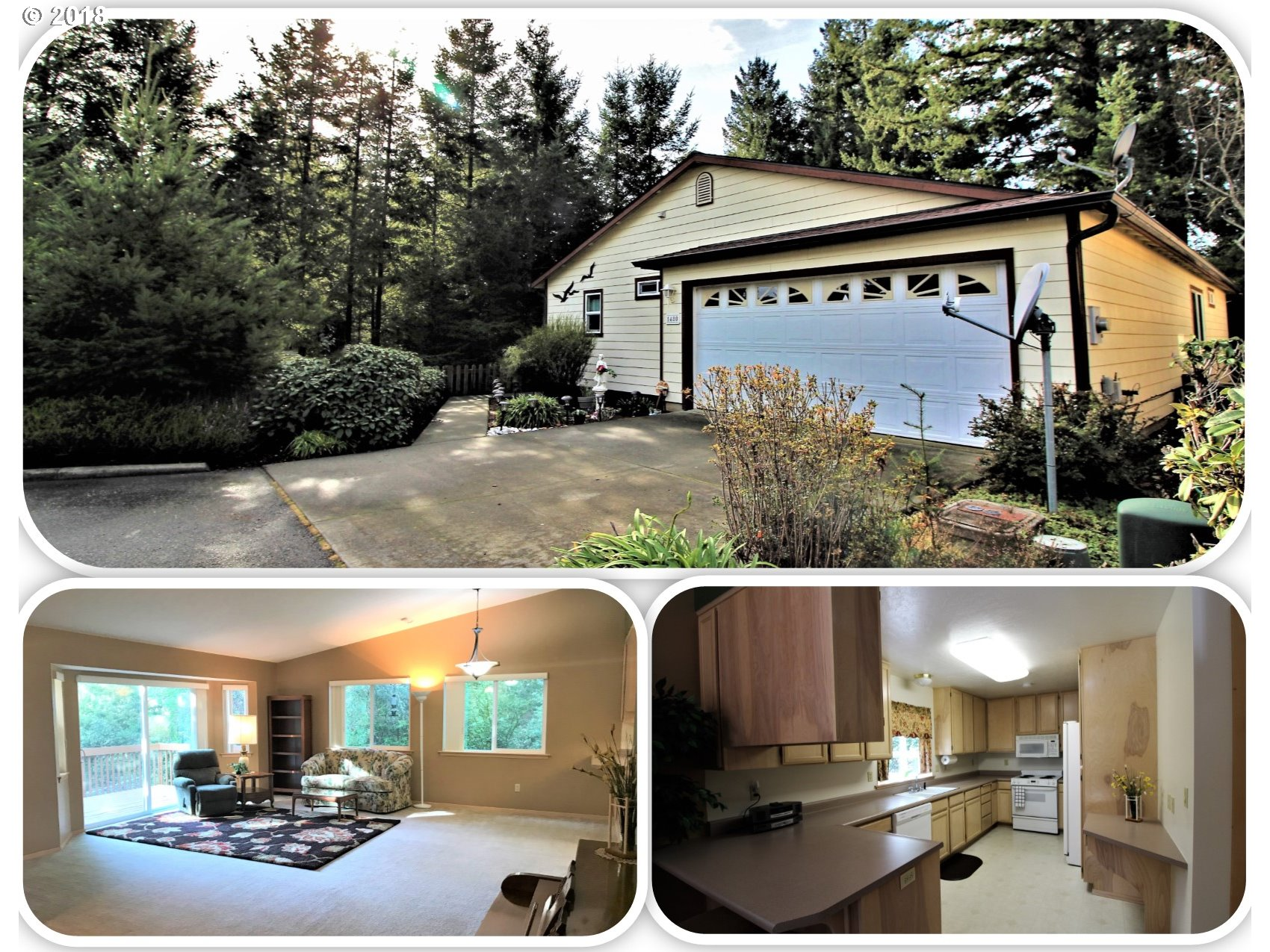 Brookings, OR 2 Bedroom Home For Sale