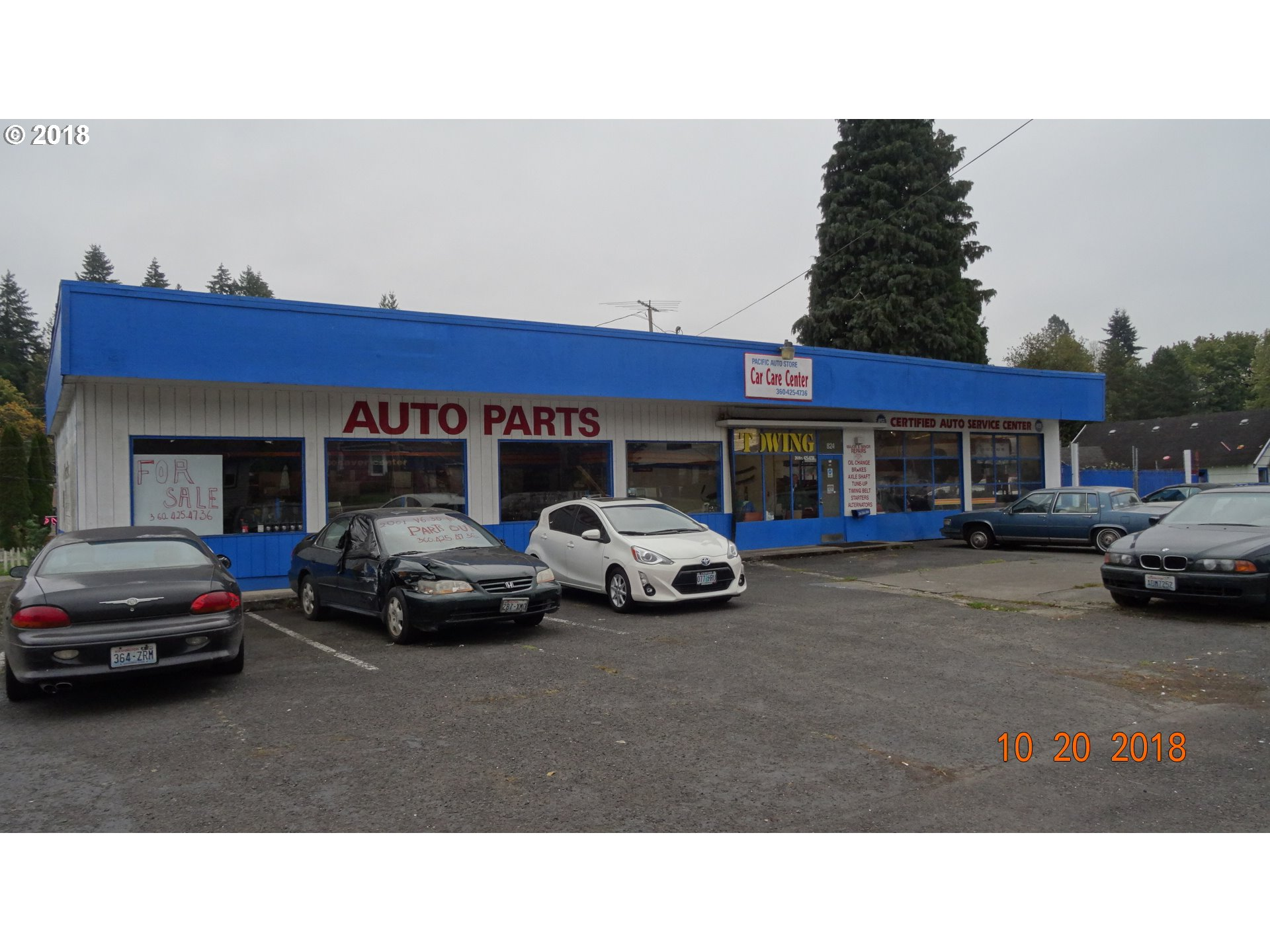 824 PACIFIC AVE Kelso, WA 98626 - MLS #: 18652293